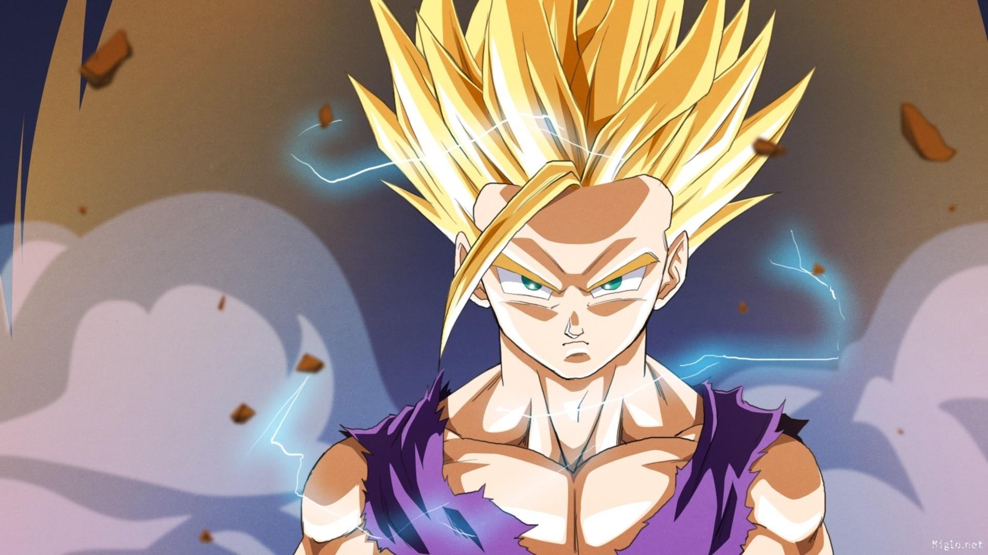 DBZ · Dragon Ball Son Gohan Anime Hd Desktop Wallpaper