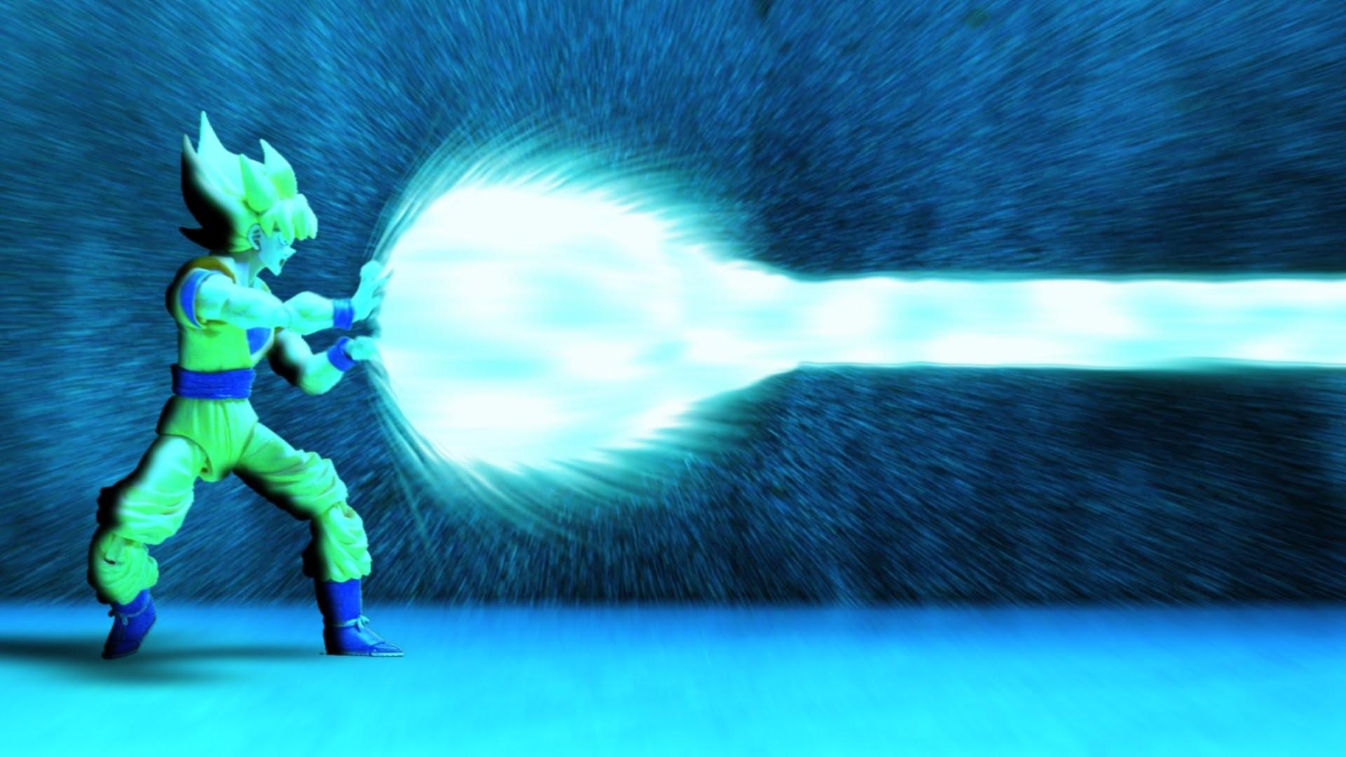 Dragon Ball Z – Stop motion – Kamehameha – Son Goku vs Popcorn – YouTube