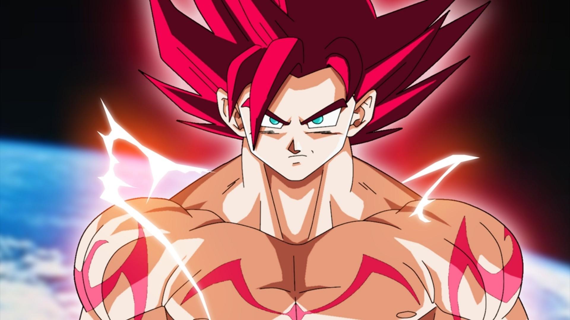 Anime Dragon Ball Super Super Saiyan God Goku Wallpaper