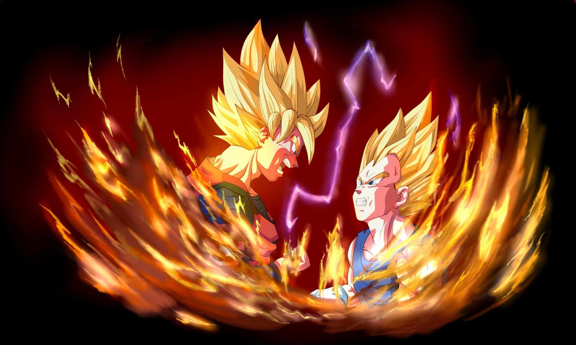 Anime Dragon Ball Z Vegeta (Dragon Ball) Goku Fondo de Pantalla