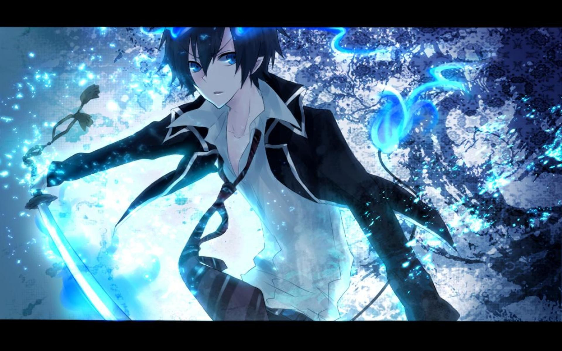 Blue Exorcist Rin Demon Form Wallpapers High Quality