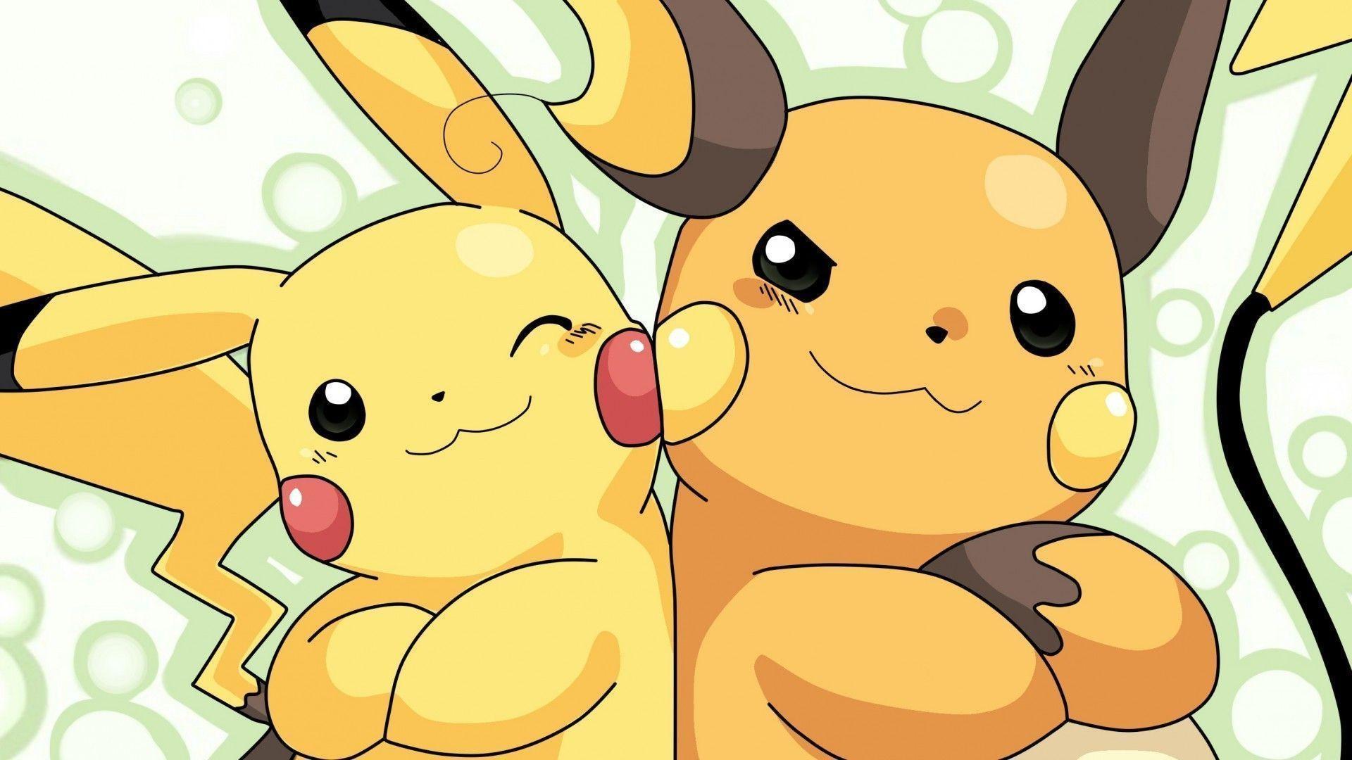 anime, Raichu, Pikachu Wallpapers HD / Desktop and Mobile Backgrounds