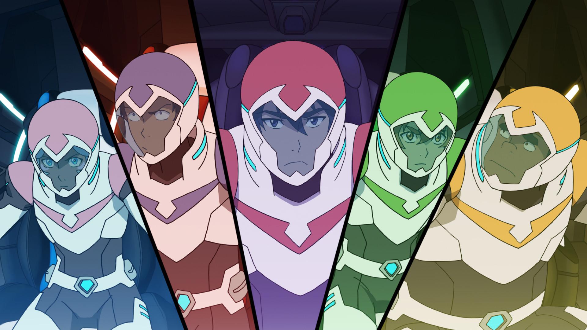 Watch Netflix's 'Voltron' Restore the Original Anime Line-Up in S3   Inverse