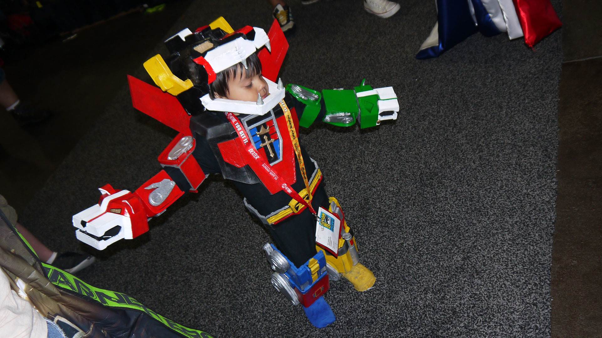 Before I came to the 2012 San Diego Comic-Con I had two one-year-old boys.  Now I have ideas. So many ideas.