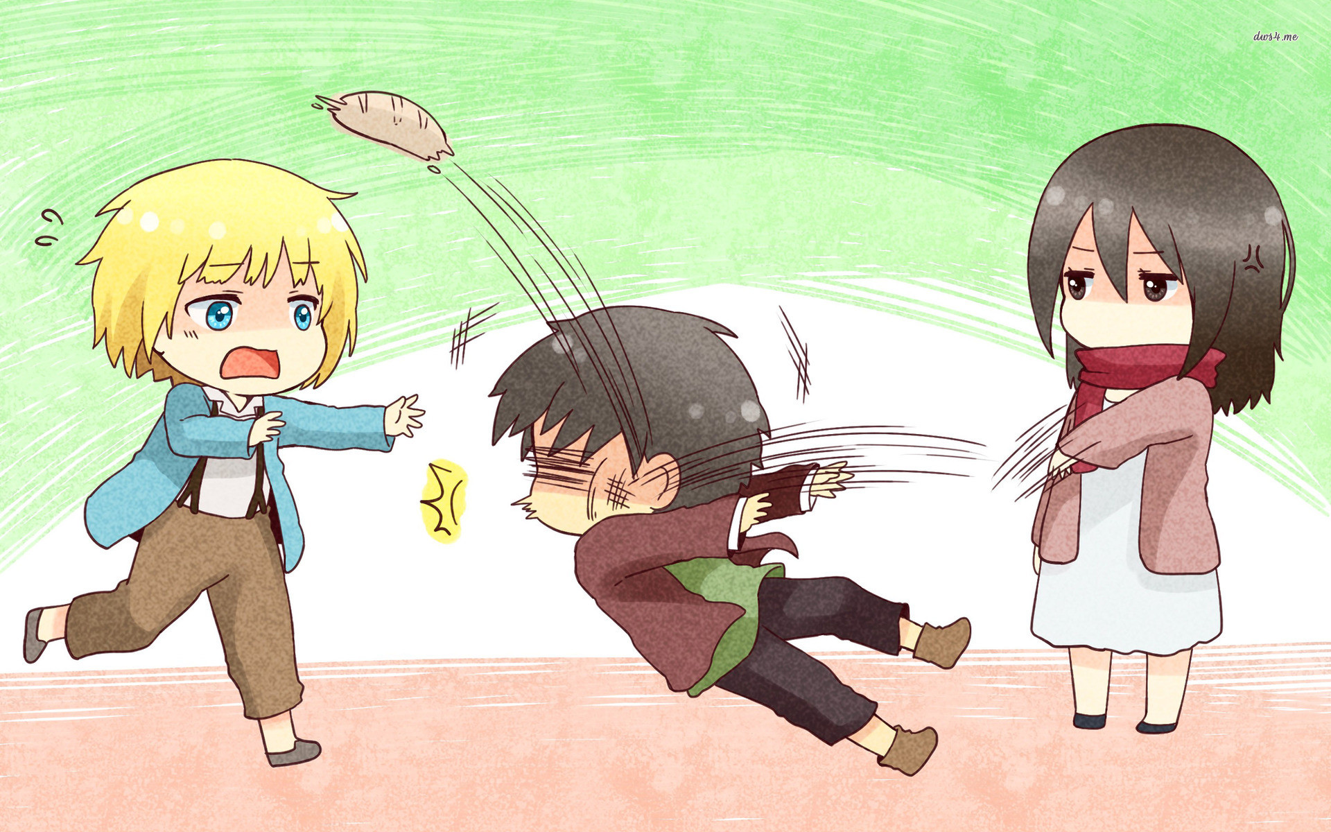 136 Attack On Titan Chibi