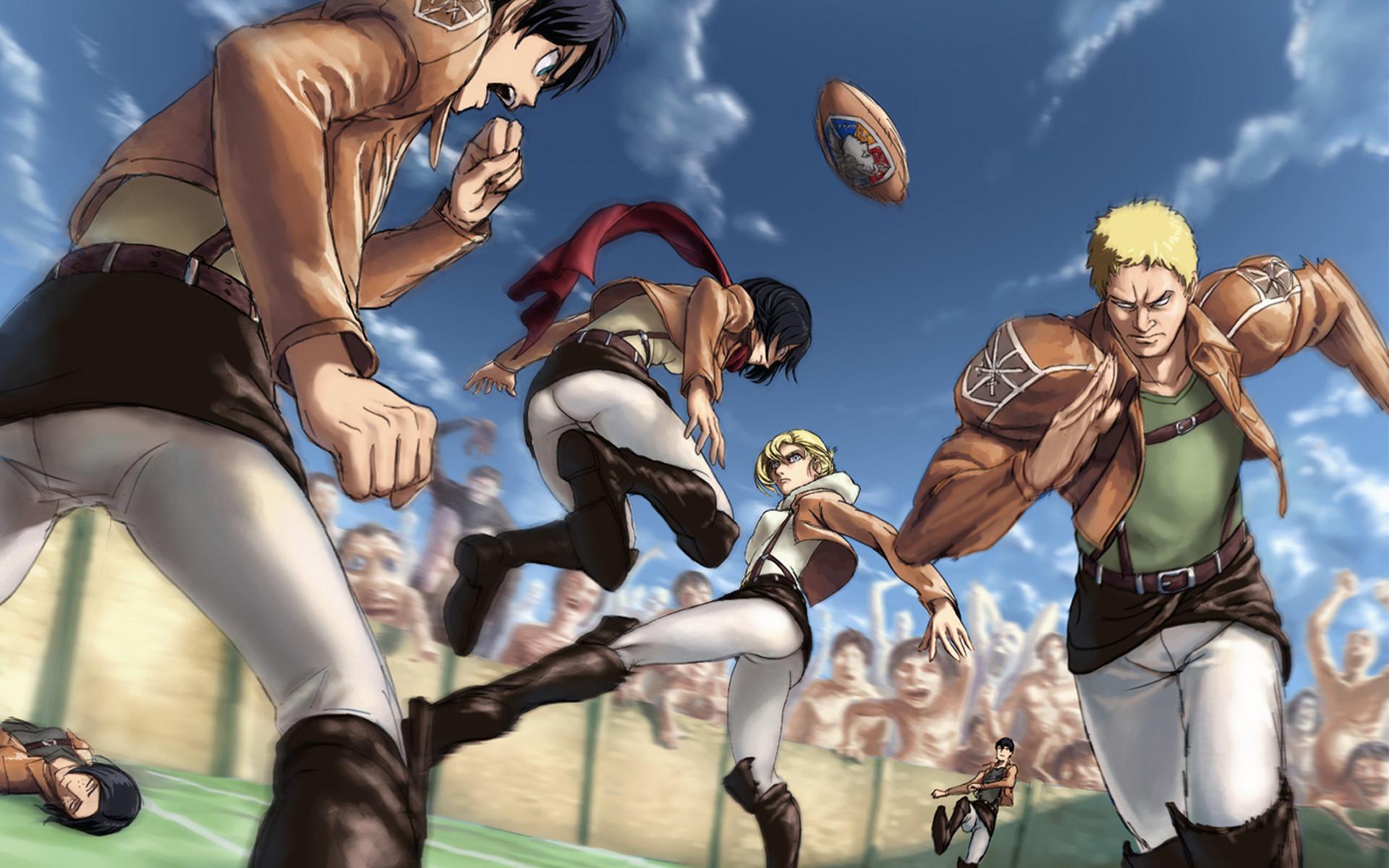 attack on titan / shingeki no kyojin anime hd wallpaper , image