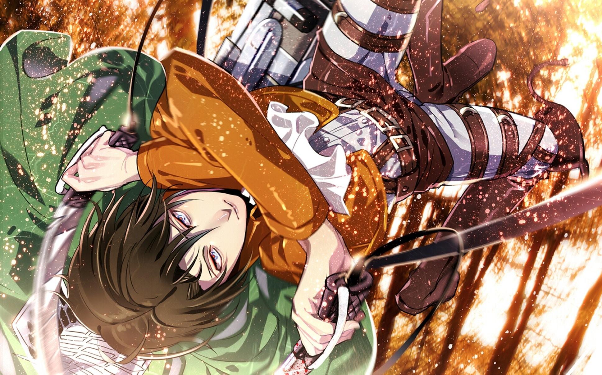 Attack on titan shingeki no kyojin guy anime art rivaille levi wallpaper      932959   WallpaperUP