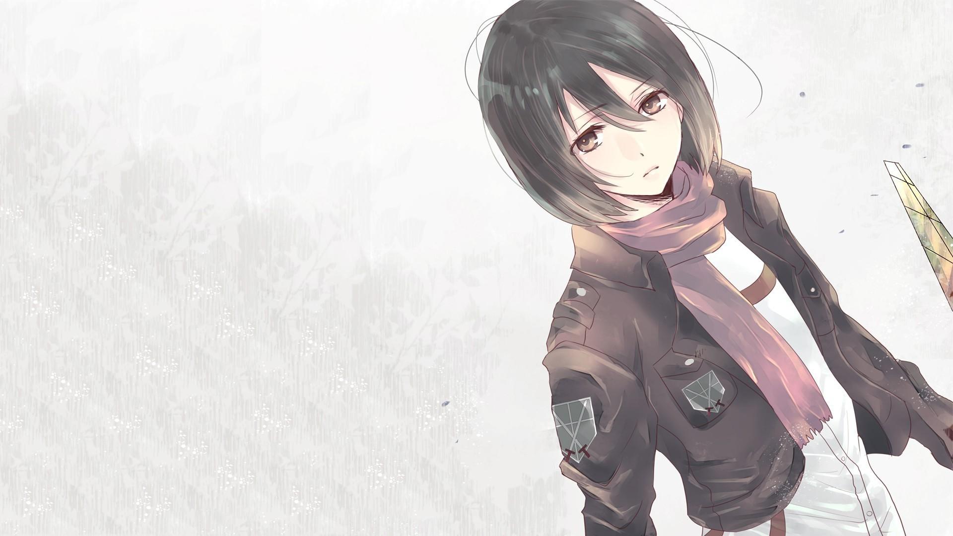 9 Attack On Titan Iphone Wallpaper Mikasa