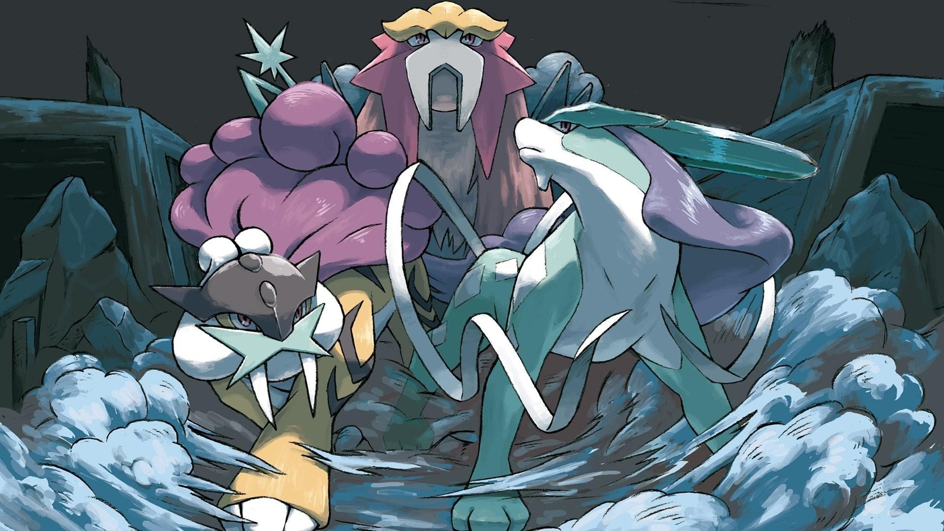 Entei Legendary Pokémon Raikou Suicune · HD Wallpaper | Background ID:206181