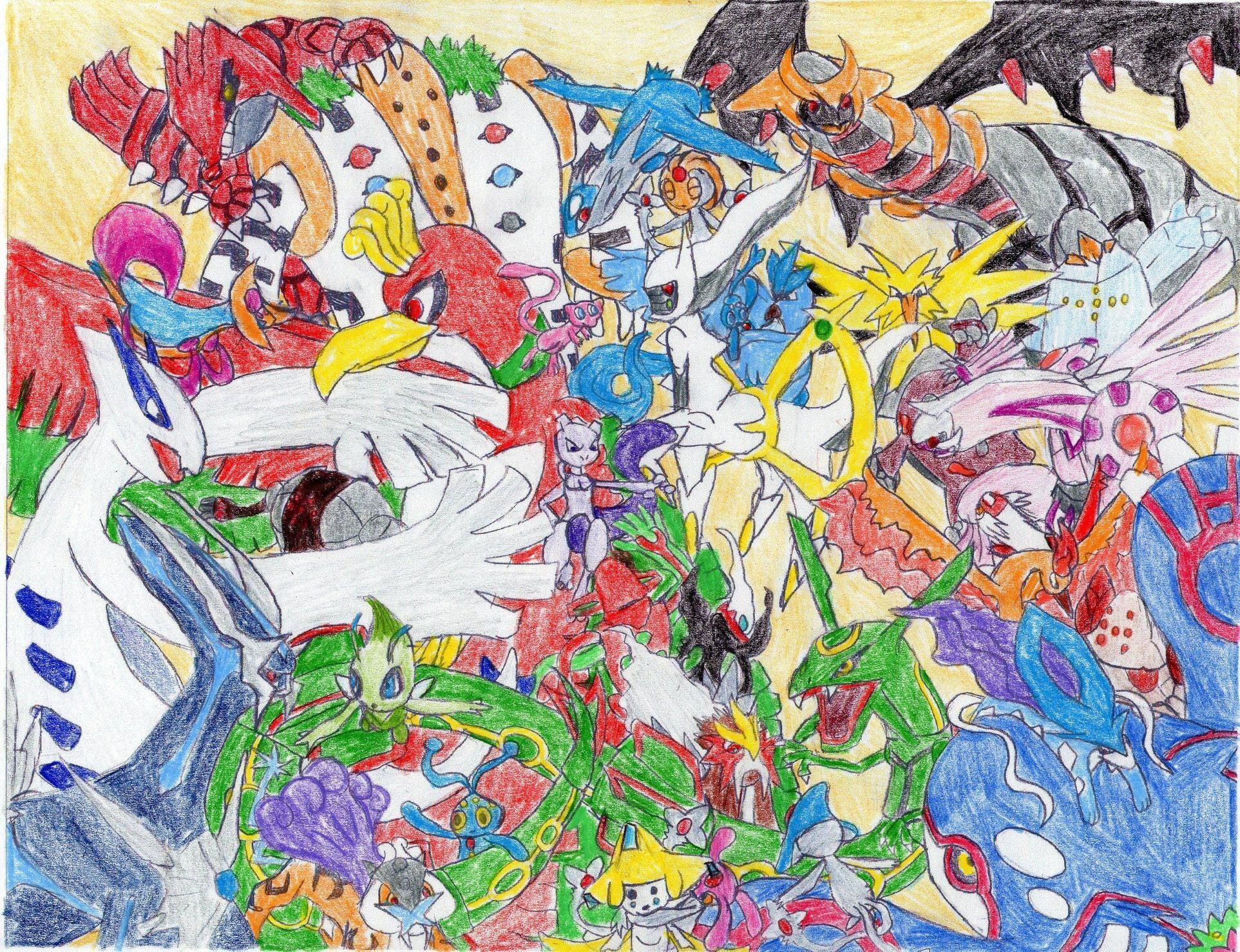 Legendary Pokemon Wallpapers – Viewing Gallery