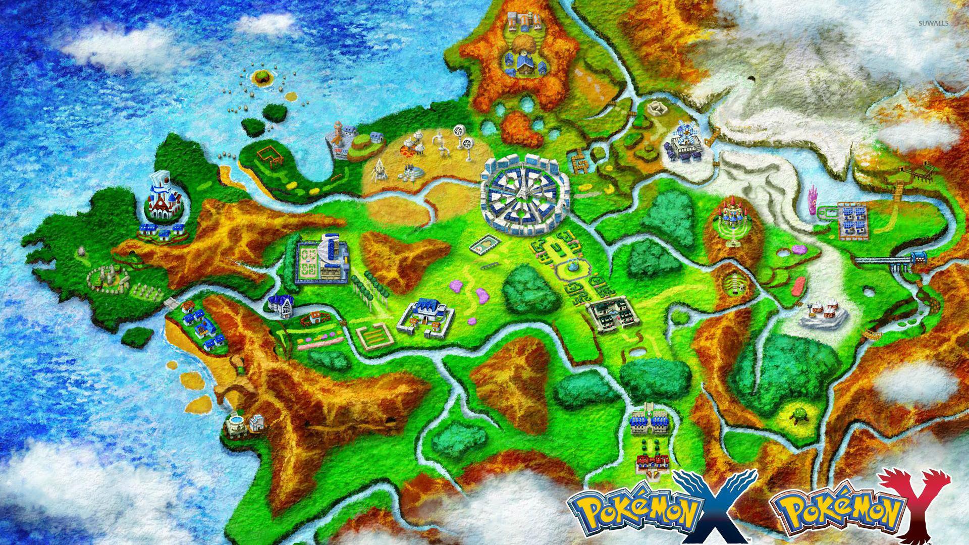 Kalos – Pokemon wallpaper jpg