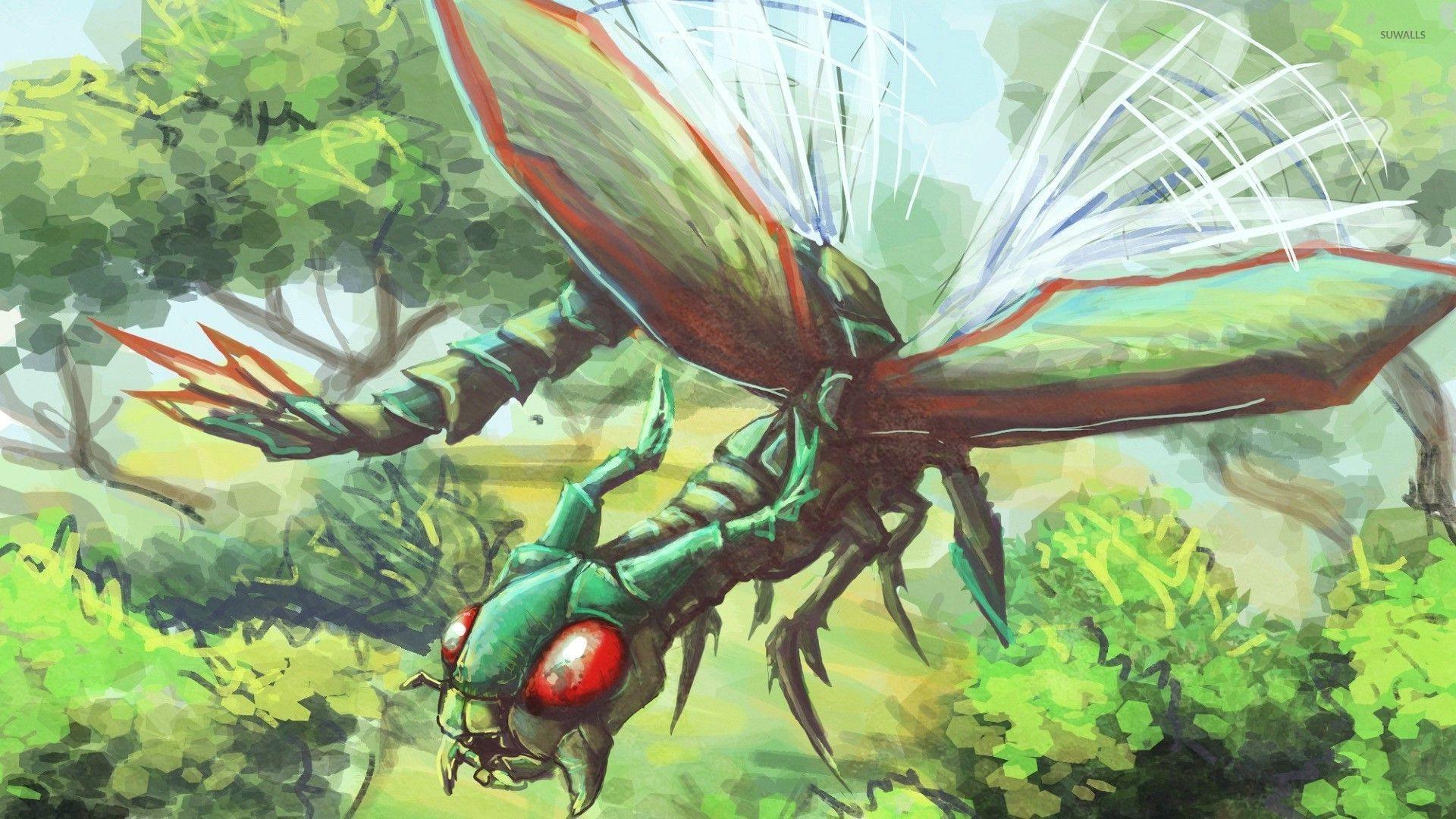 Flygon – Pokemon wallpaper jpg