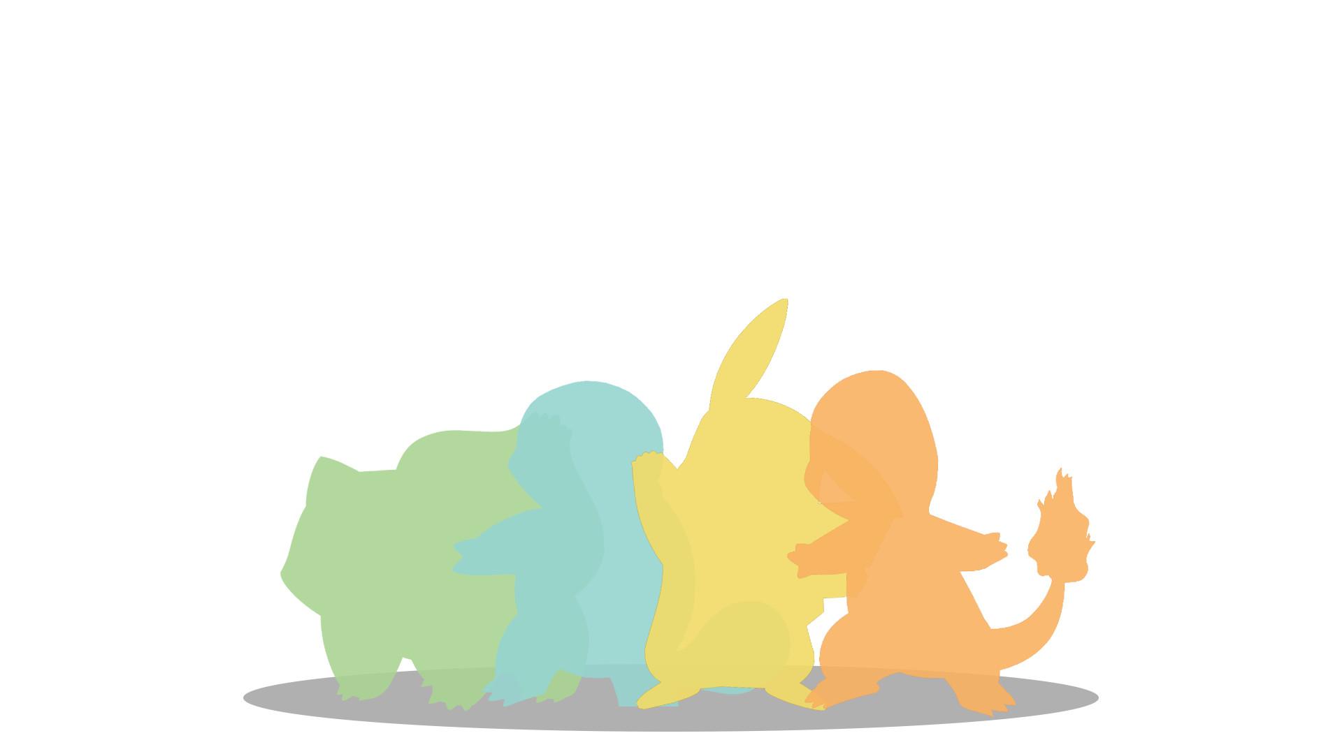 Minimal Pokemon Wallpaper [1920×1080] …