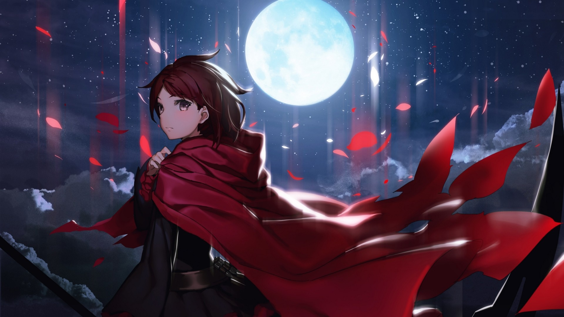 Download Ruby Rose Rwby Majestic Hot Anime Guys Wallpaper In Many  Resolutions