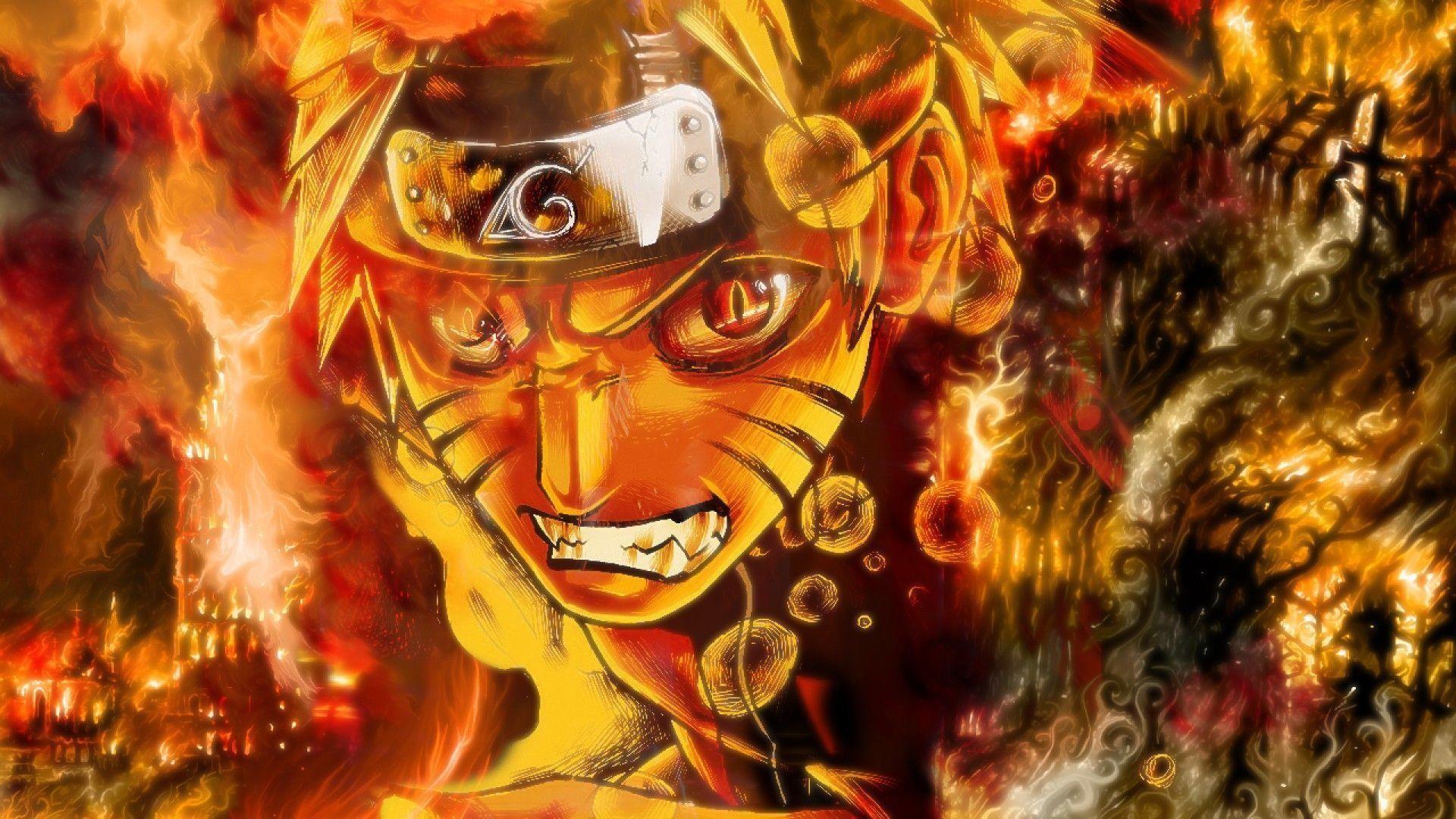 Wallpapers For > Naruto Kyuubi Wallpaper 1920×1080