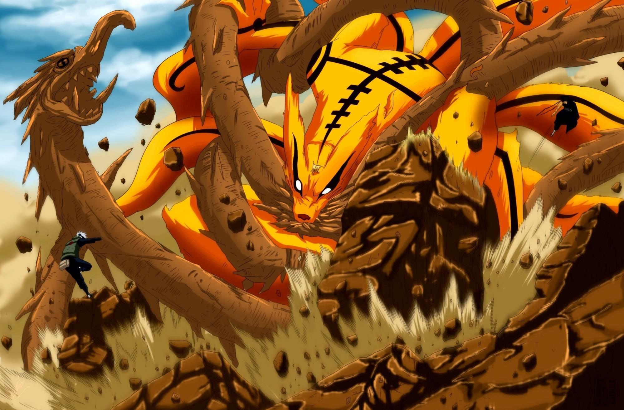 Nine tails vs dragon