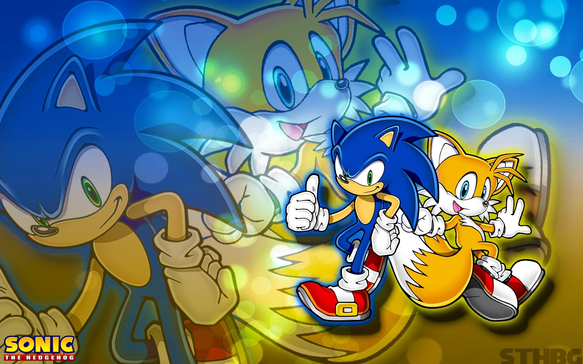 Sonic And Tails Wallpaper by SonicTheHedgehogBG on DeviantArt