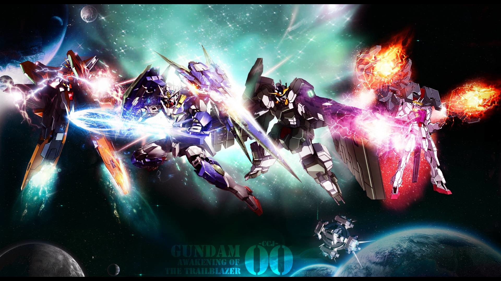 awakening of the trailblazer – Gundam 00 Wallpaper