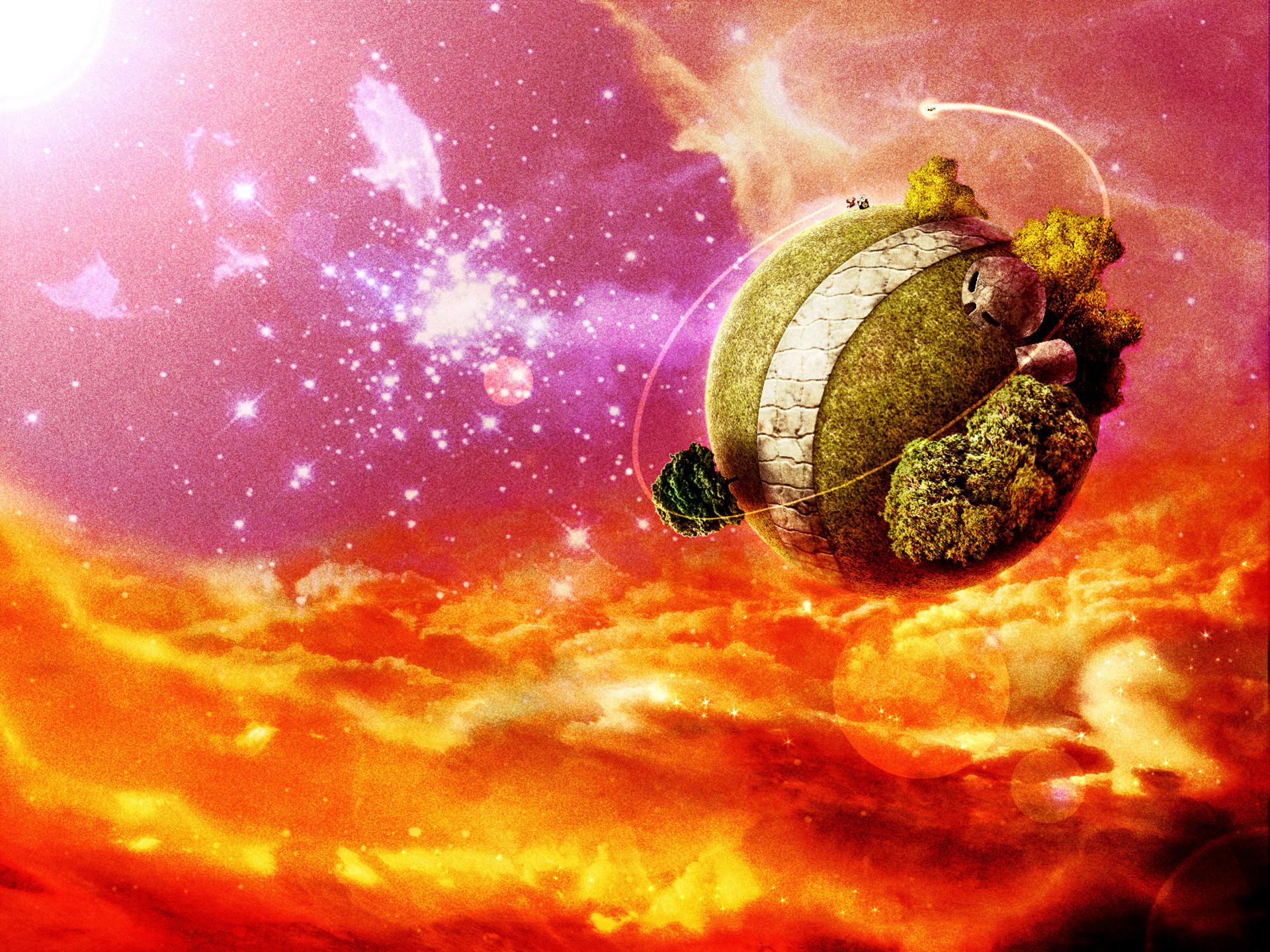 Dragonball Z – King Kai's (North Kai) planet