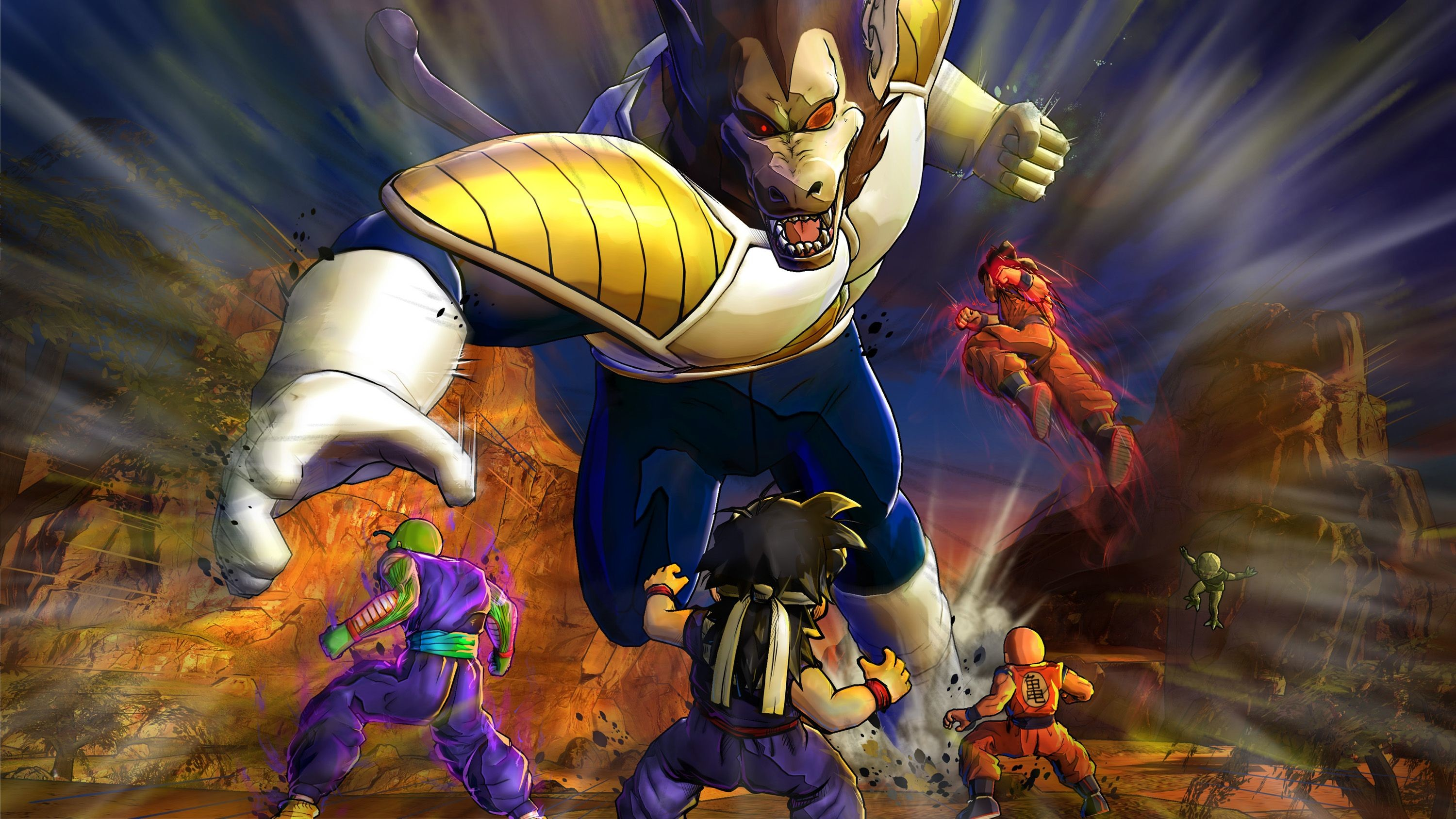 Dragon Ball Z Wallpaper for FB Cover – Cartoons Wallpapers
