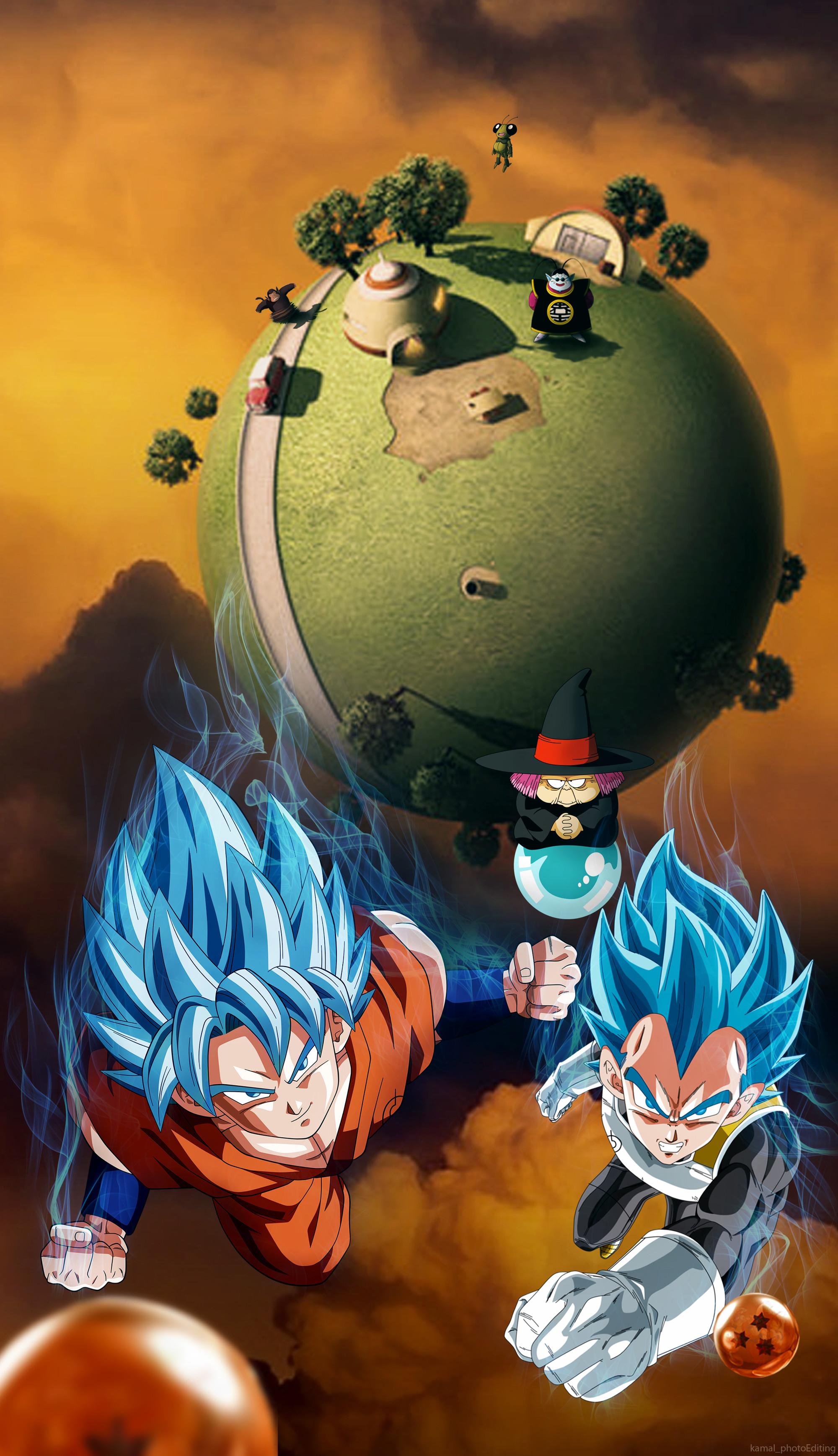 … Dragon Ball SUPER(Kaio)Wallpaper Phone : by kamal by kamal87malst3n