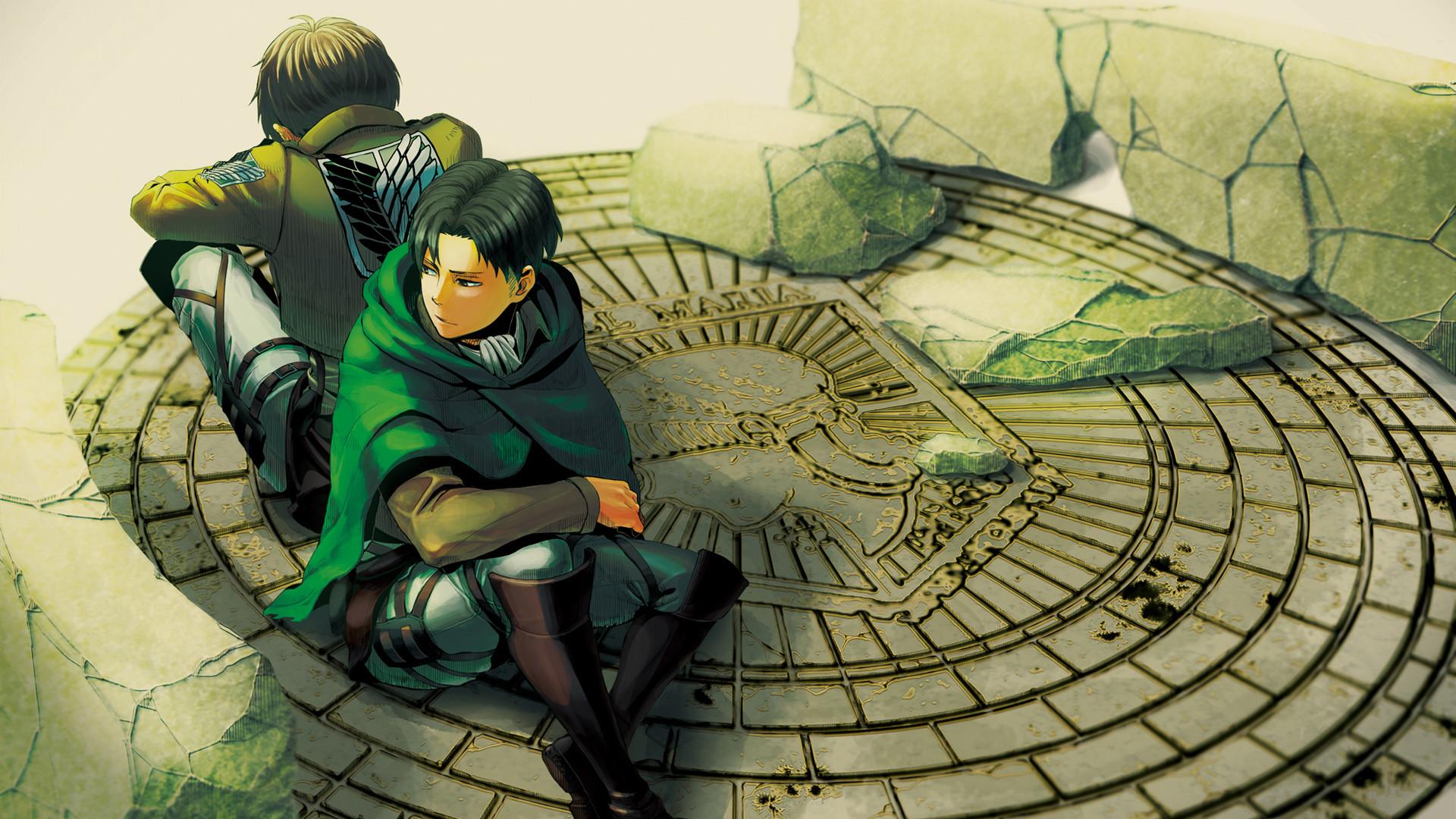 eren-jaeger-levi-attack-on-titan-anime-hd-wallpaper-1920×1080.jpg  (1920×1080)   Ereri   Pinterest   Anime