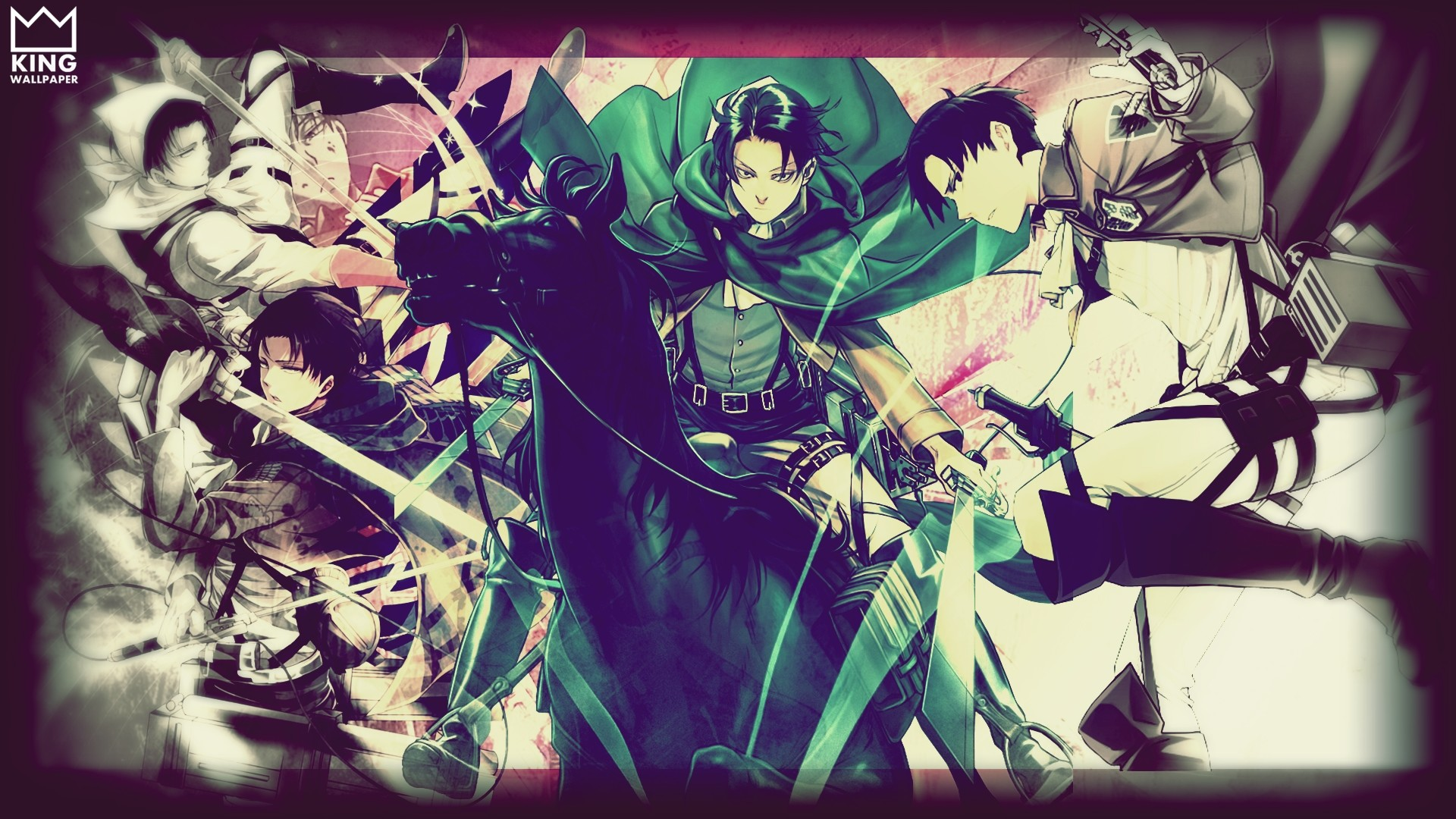 Levi Wallpaper – @Shingeki no Kyojin by Kingwallpaper on DeviantArt