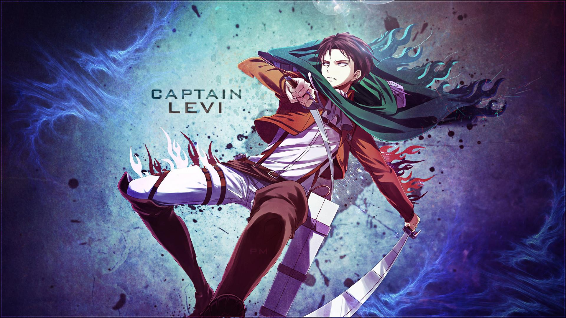 … [Wallpaper] – Captain Levi by attats