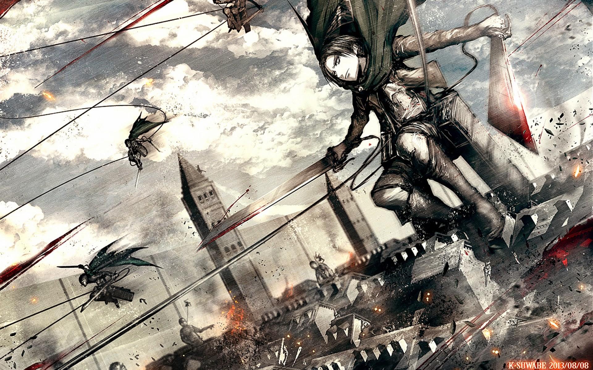 388 Shingeki No Kyojin HD Wallpapers   Backgrounds – Wallpaper Abyss – Page  2