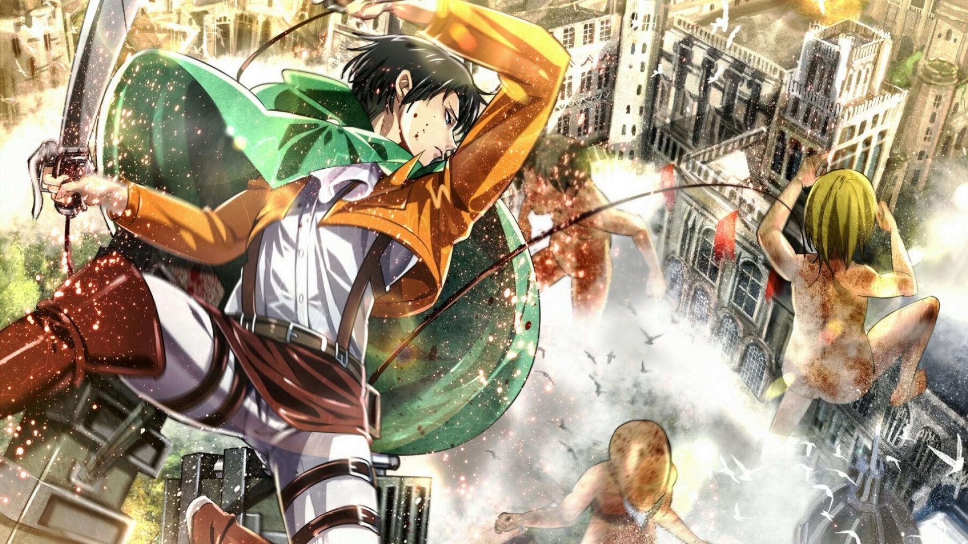 Shingeki No Kyojin, Levi Ackerman Wallpapers HD / Desktop and Mobile  Backgrounds