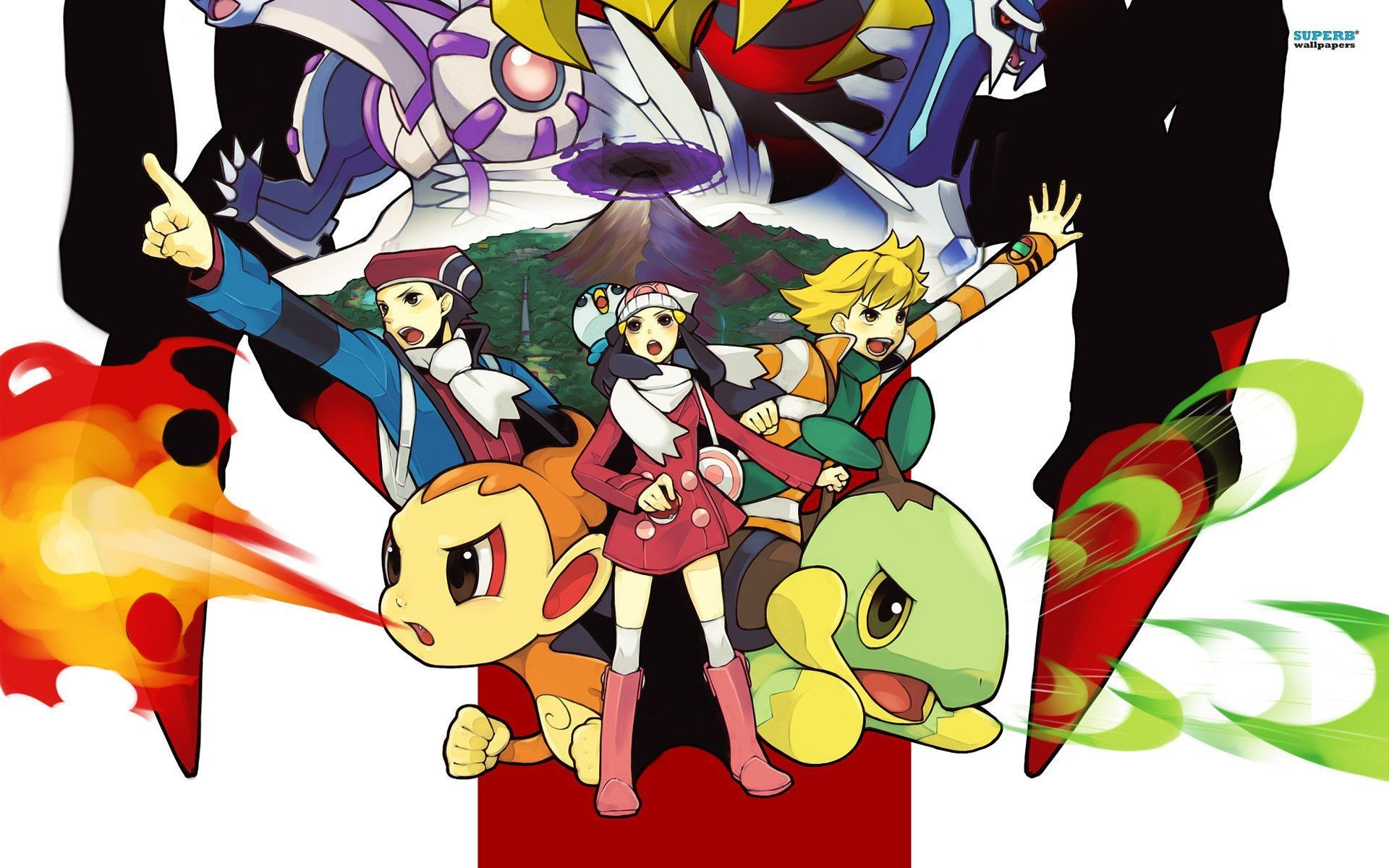Pokemon Diamond And Pearl Wallpapers – Wallpaper Cave