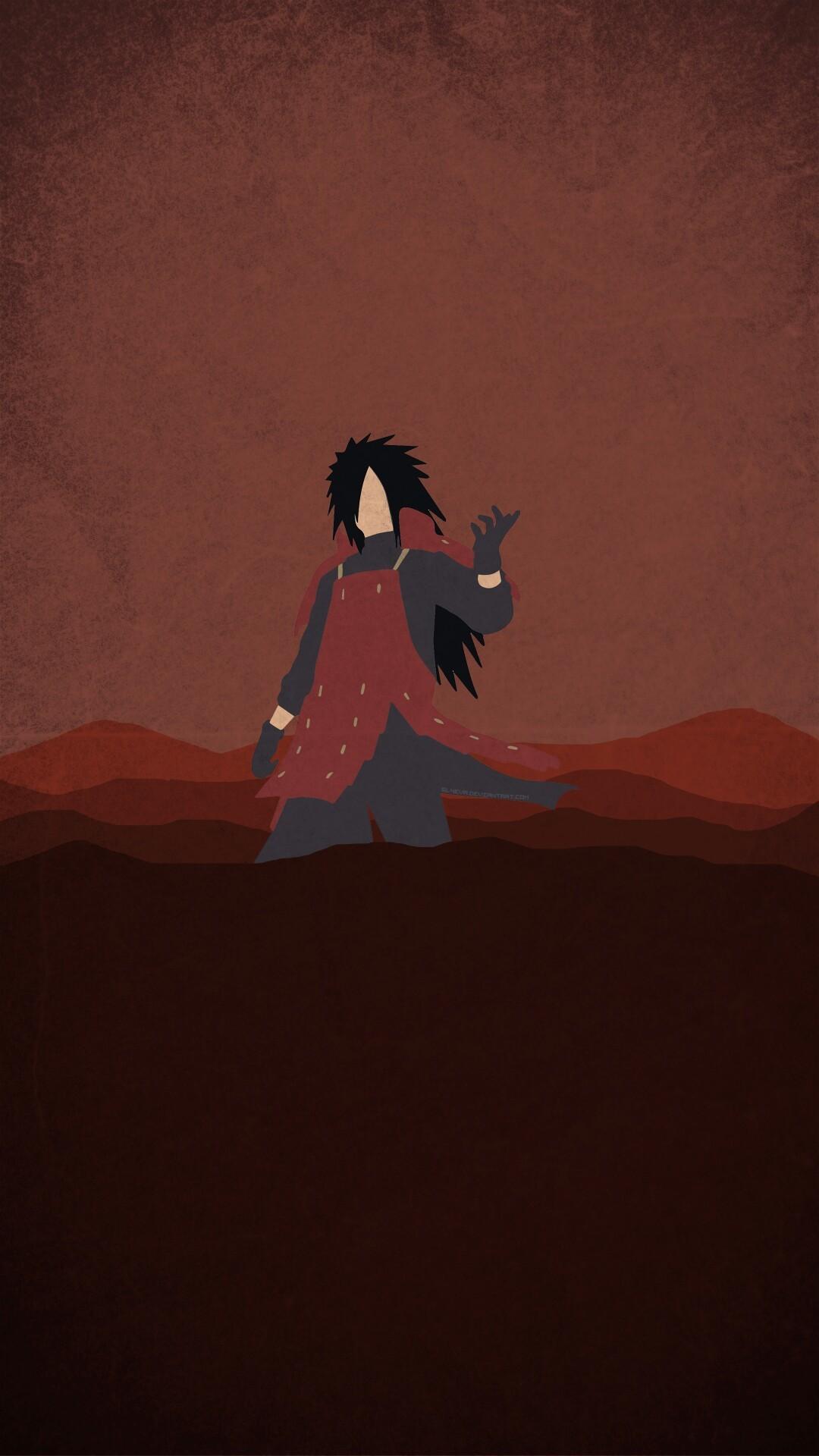 #Naruto Minimalist Mobile Wallpaper More