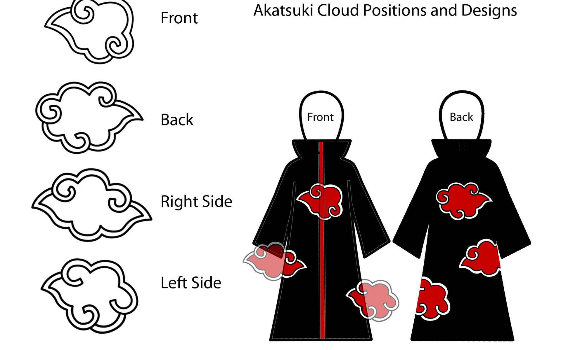 96 Akatsuki Cloud