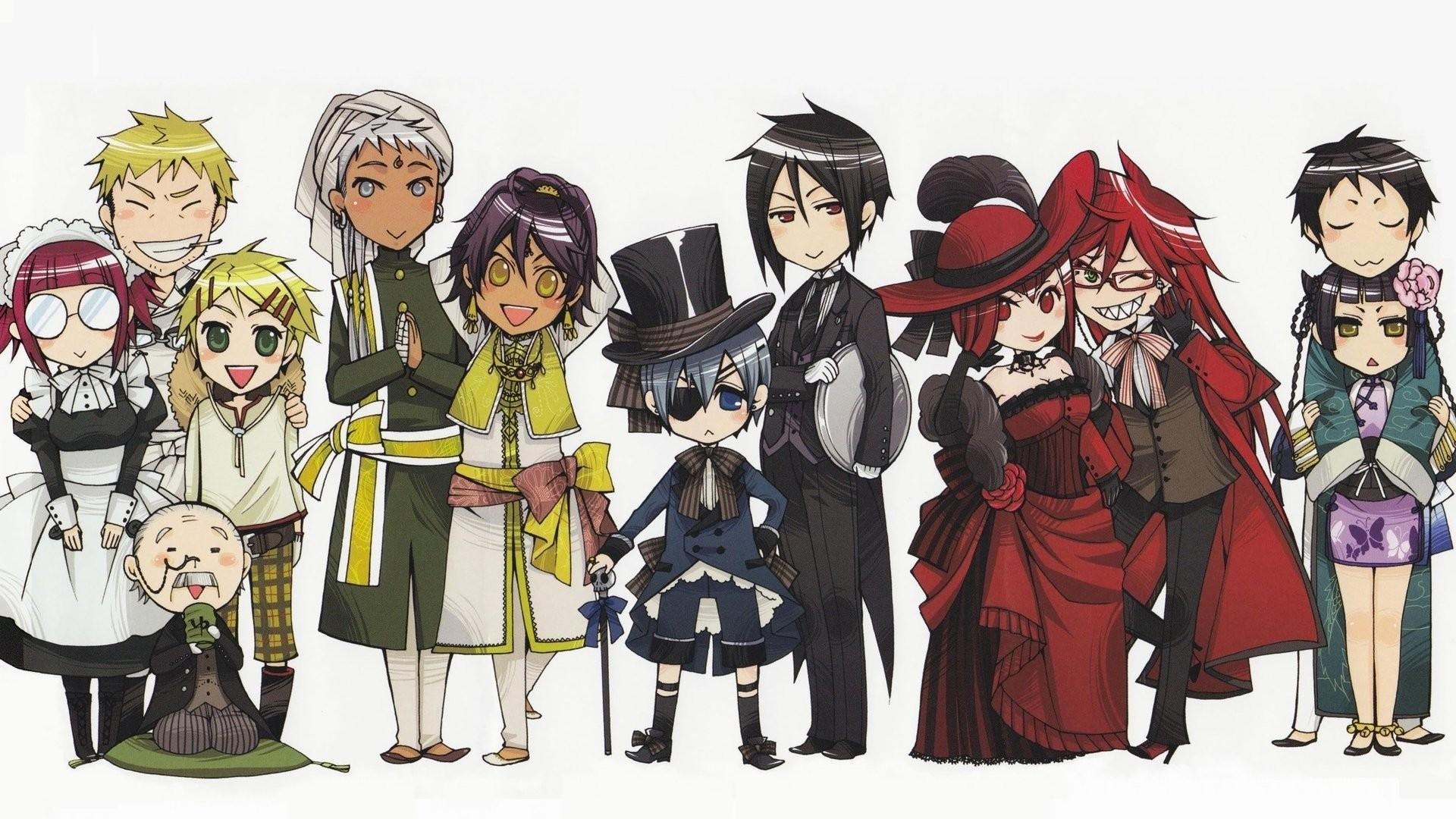 Anime – Black Butler Kuroshitsuji Wallpaper