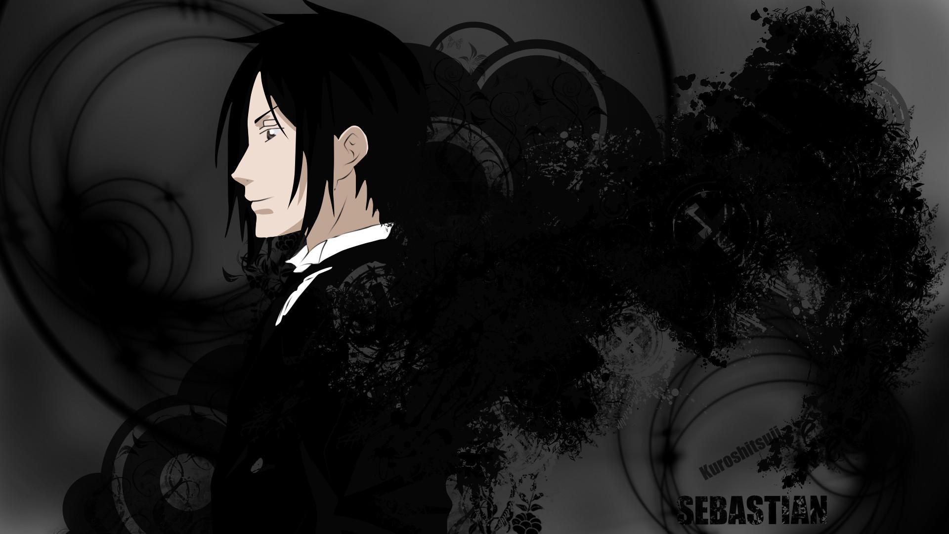 Black Butler Sebastian HD Background | PixelsTalk.Net