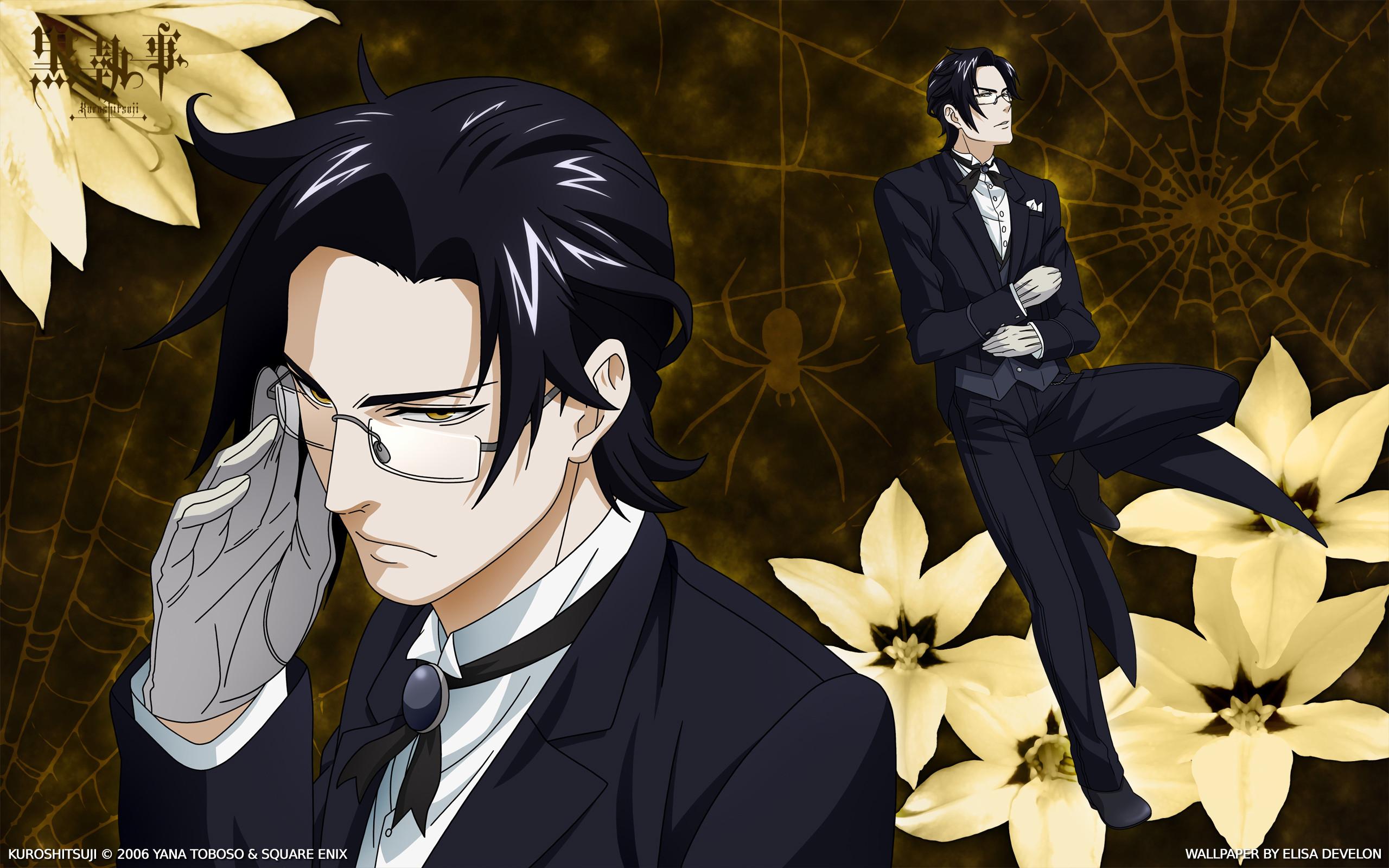 Tags: Anime, SQUARE ENIX, Kuroshitsuji, Claude Faustus, Wallpaper,  HD