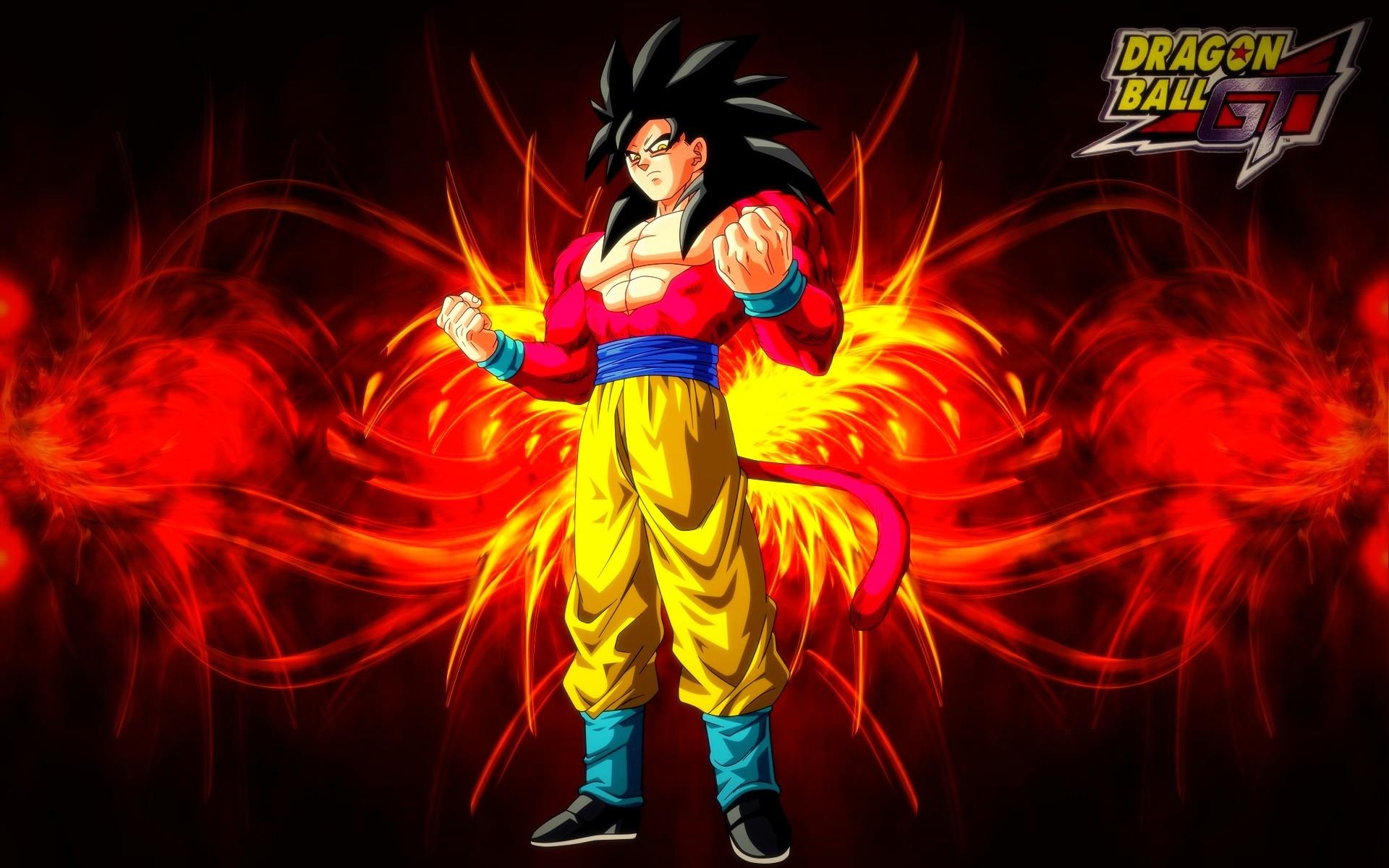 Dragonball GT – Goku Super Saiyan 4 Wallpaper by BlackShadowX306 on .
