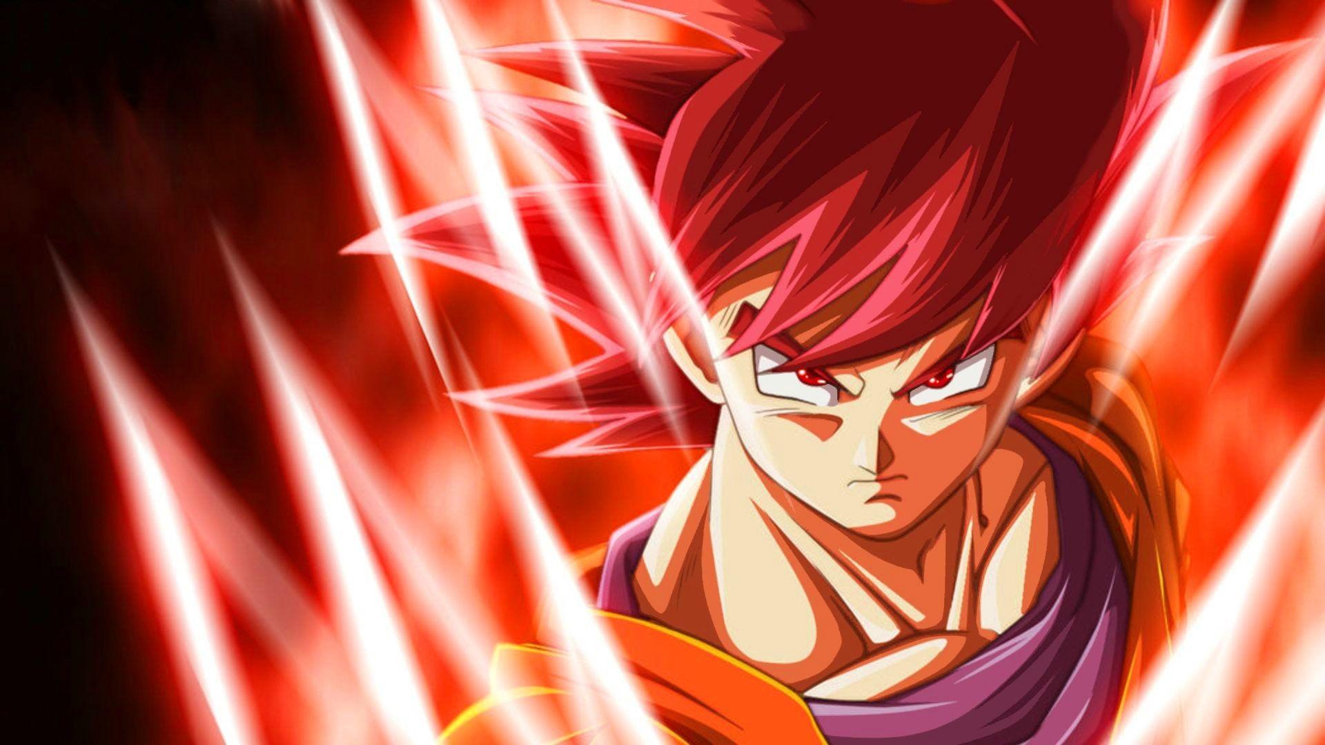 Goku Super Saiyan God Wallpapers, Goku Super Saiyan God .