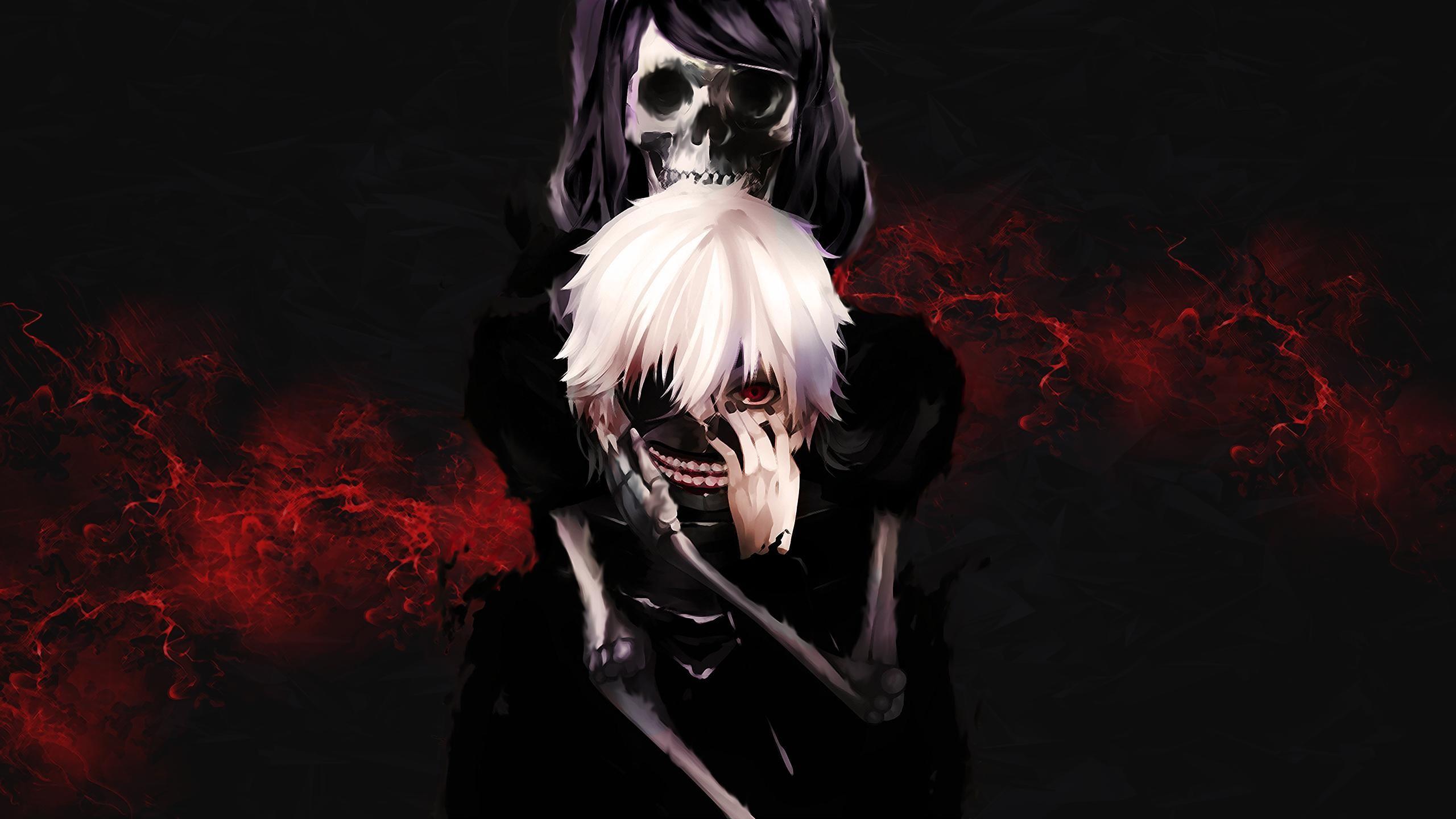 Anime – Tokyo Ghoul Ken Kaneki Touka Kirishima Wallpaper