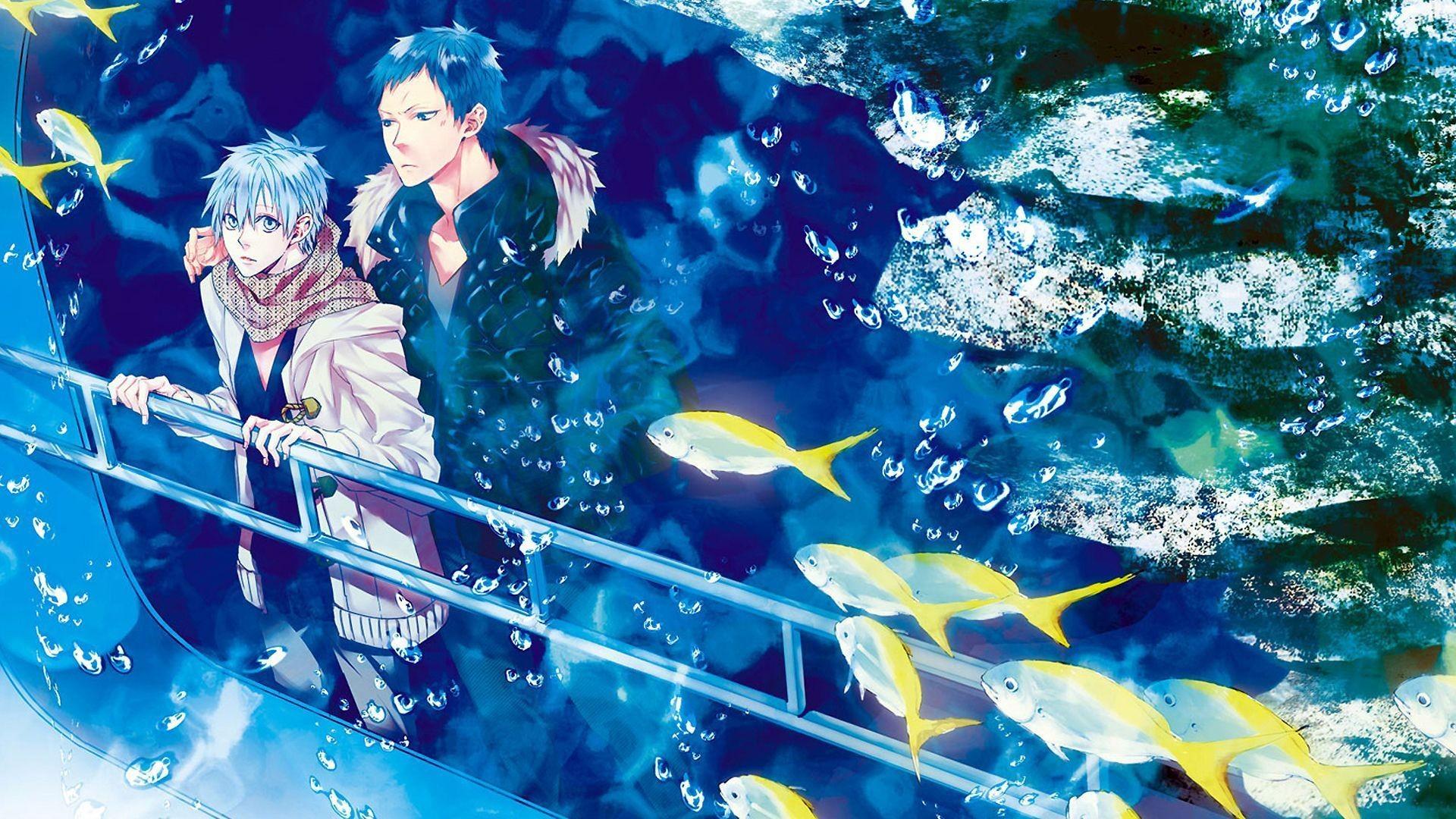 Aomine Daiki Tetsuya Kuroko No Basuke Anime Wallpaper HD .