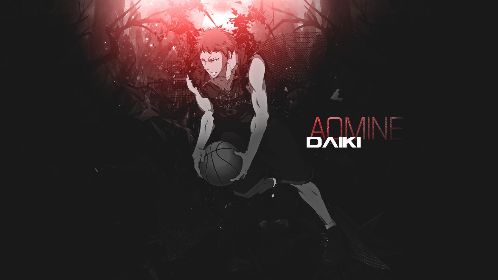 Anime – Kuroko's Basketball Daiki Aomine Wallpaper