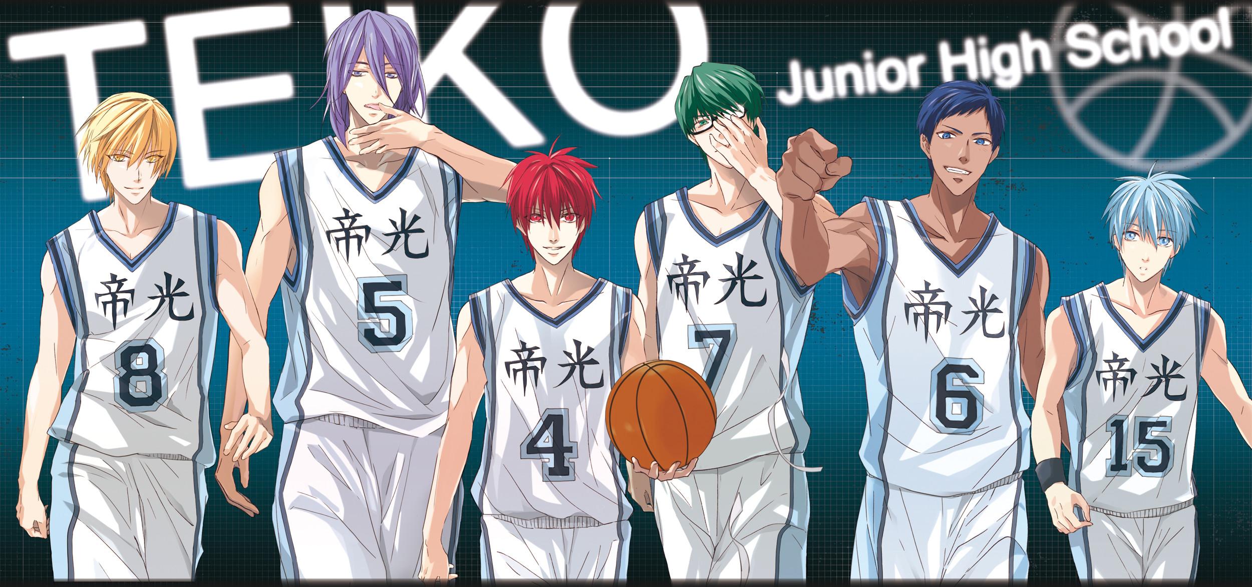 Papel de Parede HD   Plano de Fundo ID:812048. Anime Kuroko's  Basketball