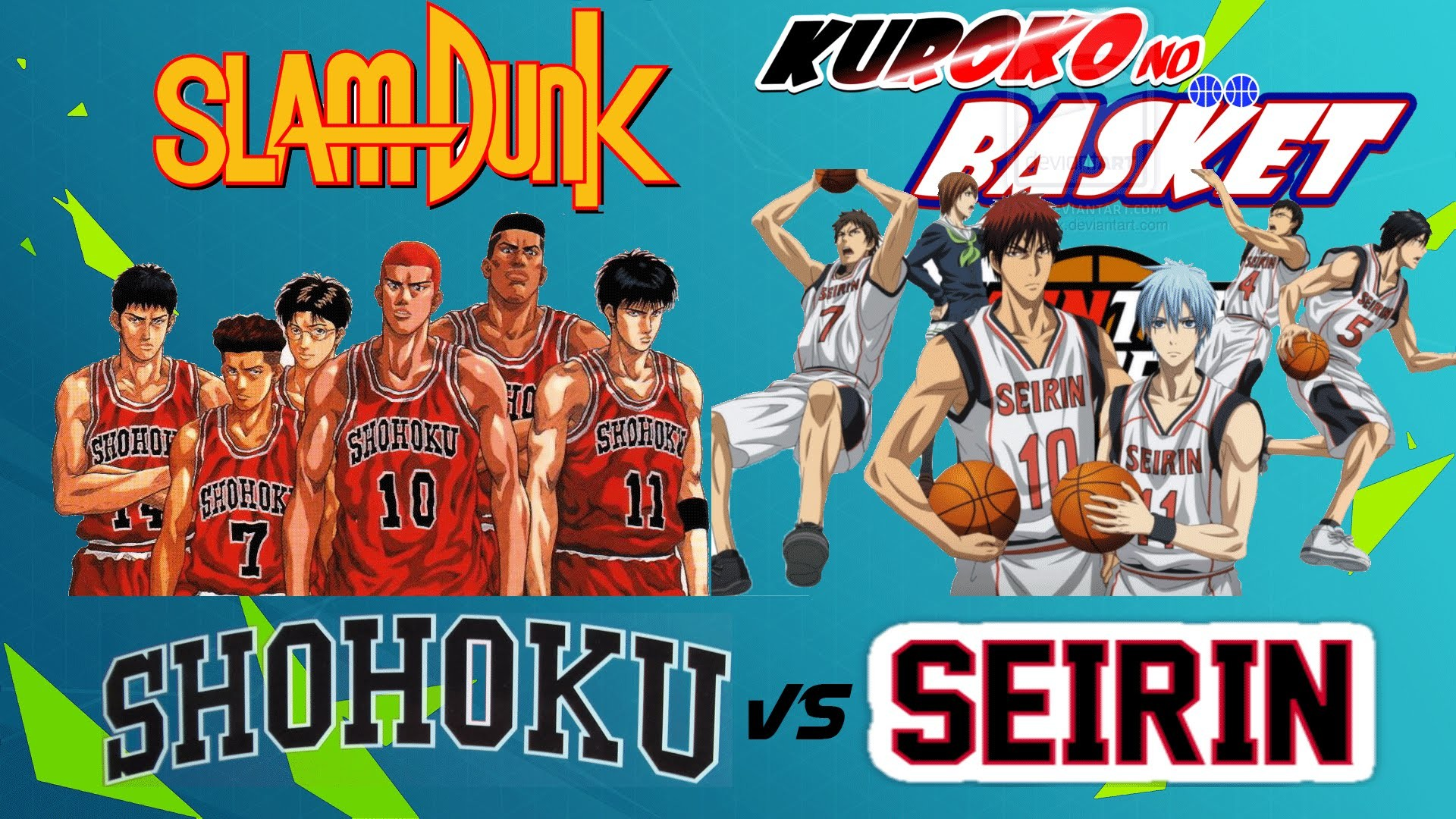 SHOHOKU vs SEIRIN   1ª Parte   Crossover Slam Dunk vs Kuroko no Basket    NBA 2k14 – YouTube