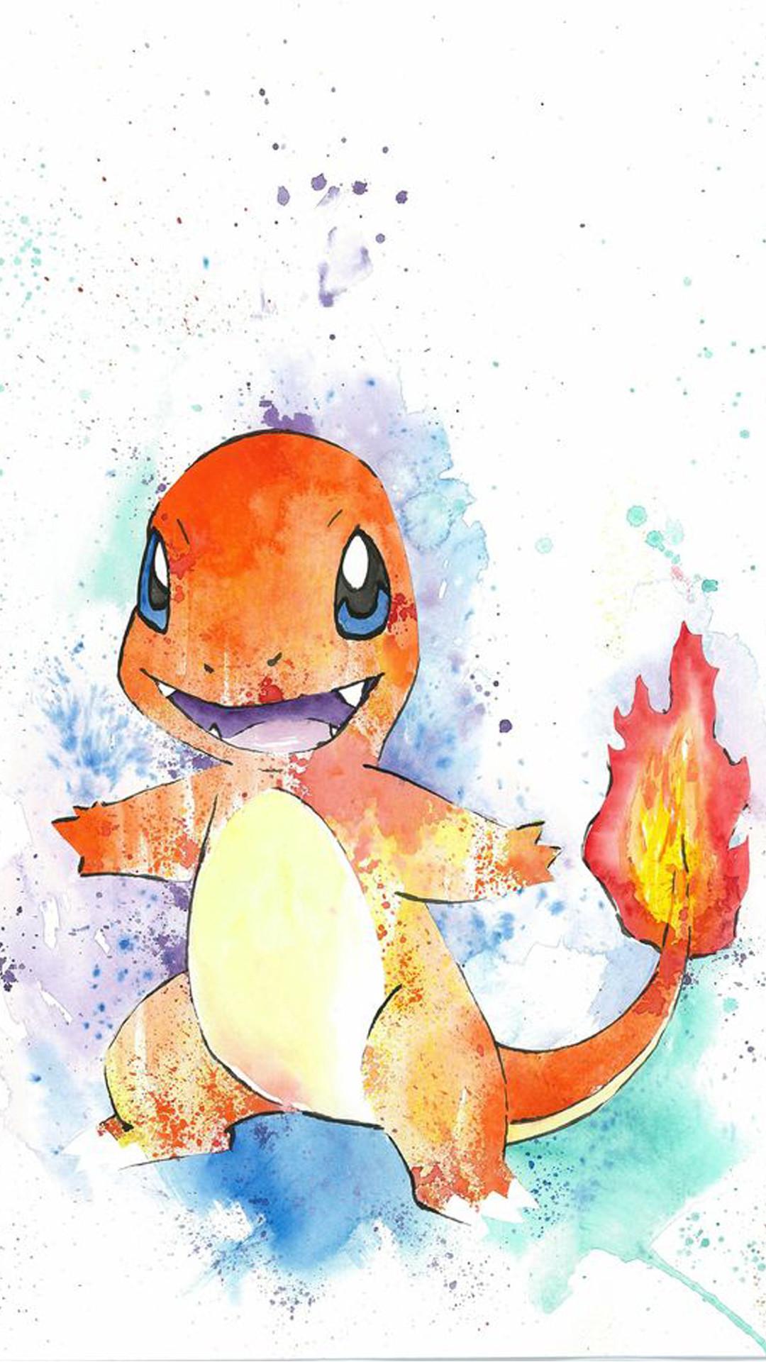 Charmander Pokemon Go iphone wallpaper quotes