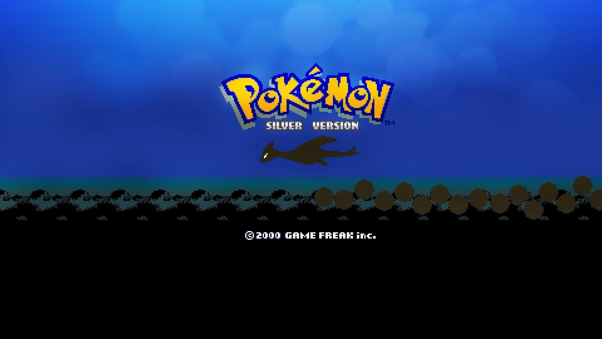 Video Game РPokemon Silver Lugia (Pok̩mon) Wallpaper