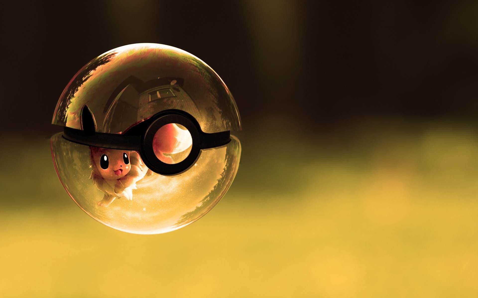 Pokemon Eevee Wallpaper 57781 Wallpaper | wallpicsize.