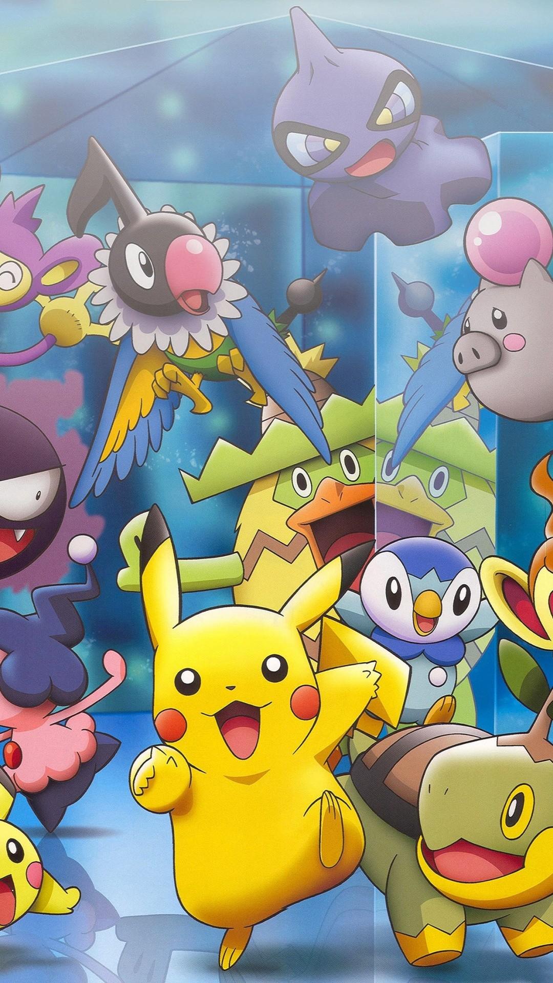 Pokemon Characters iPhone 6+ HD Wallpaper …