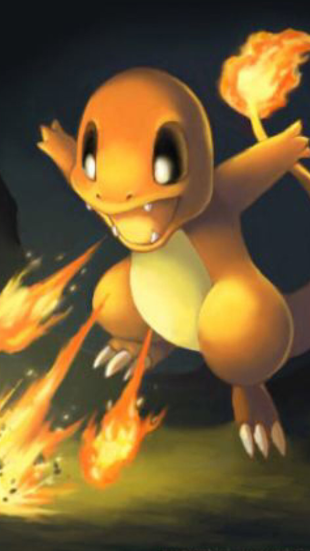 Charmander Pokemon Go iphone 7 wallpaper hd