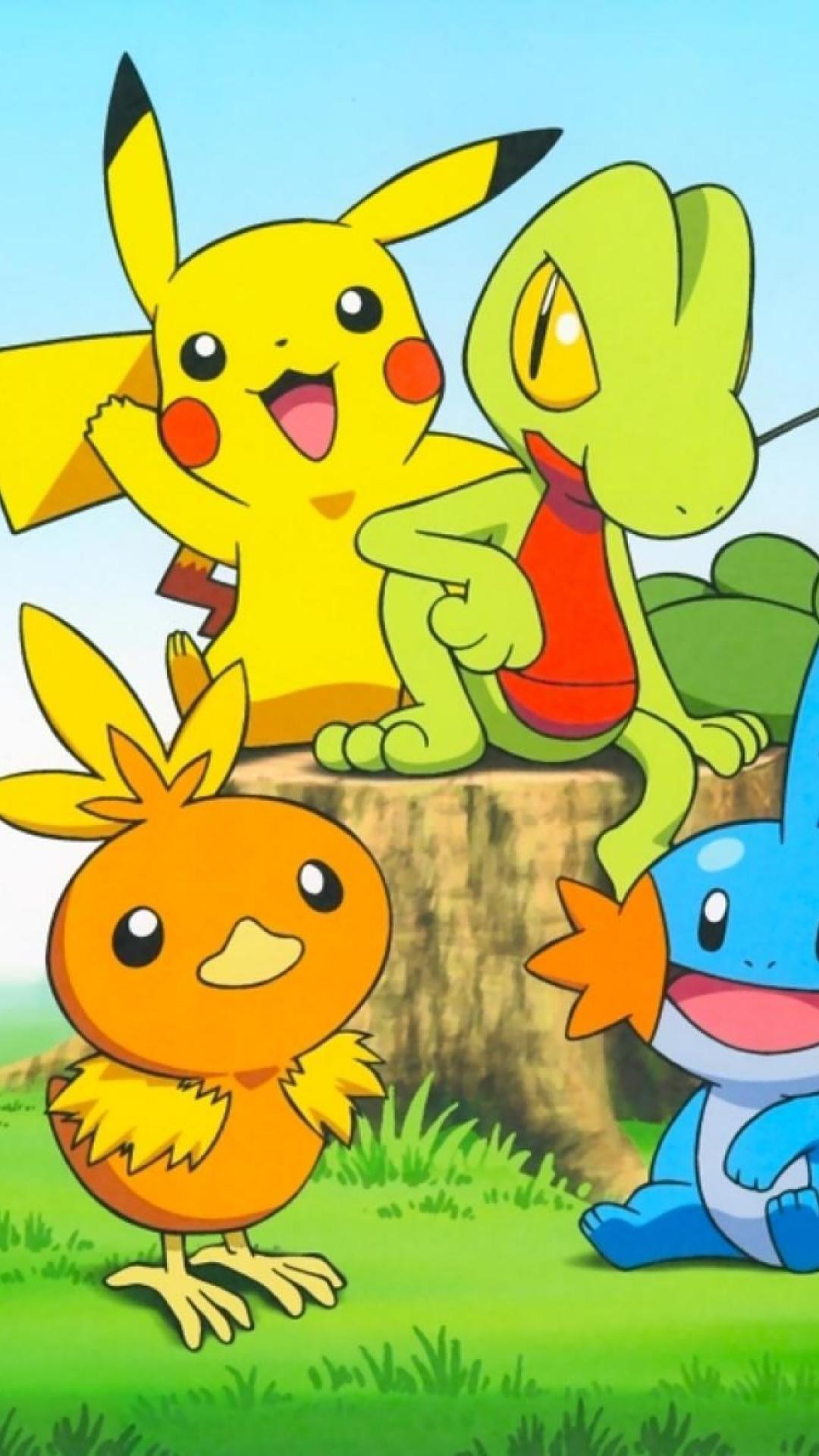 Pikachu HD wallpaper for iPhone