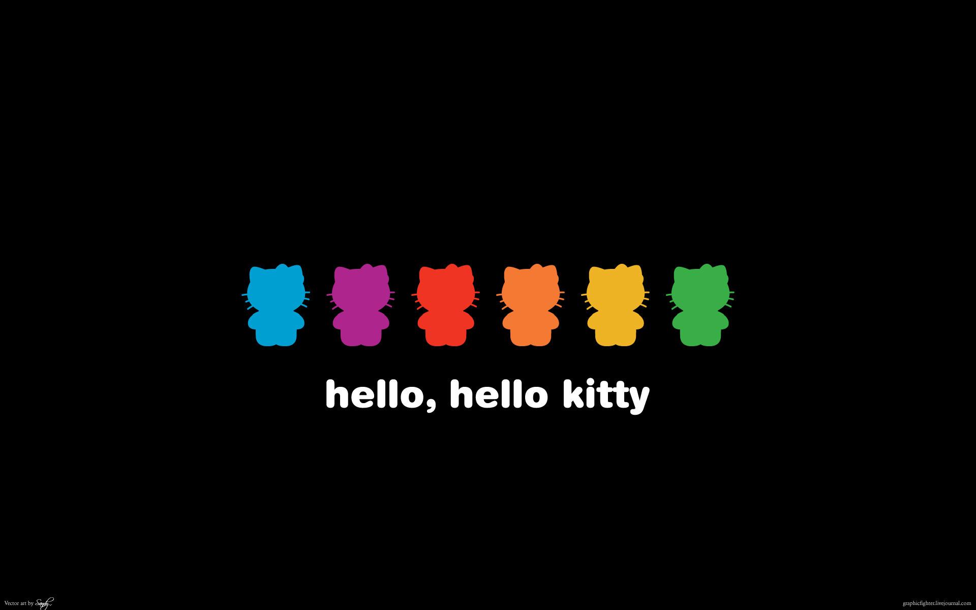 black-hello-kitty-wallpapers